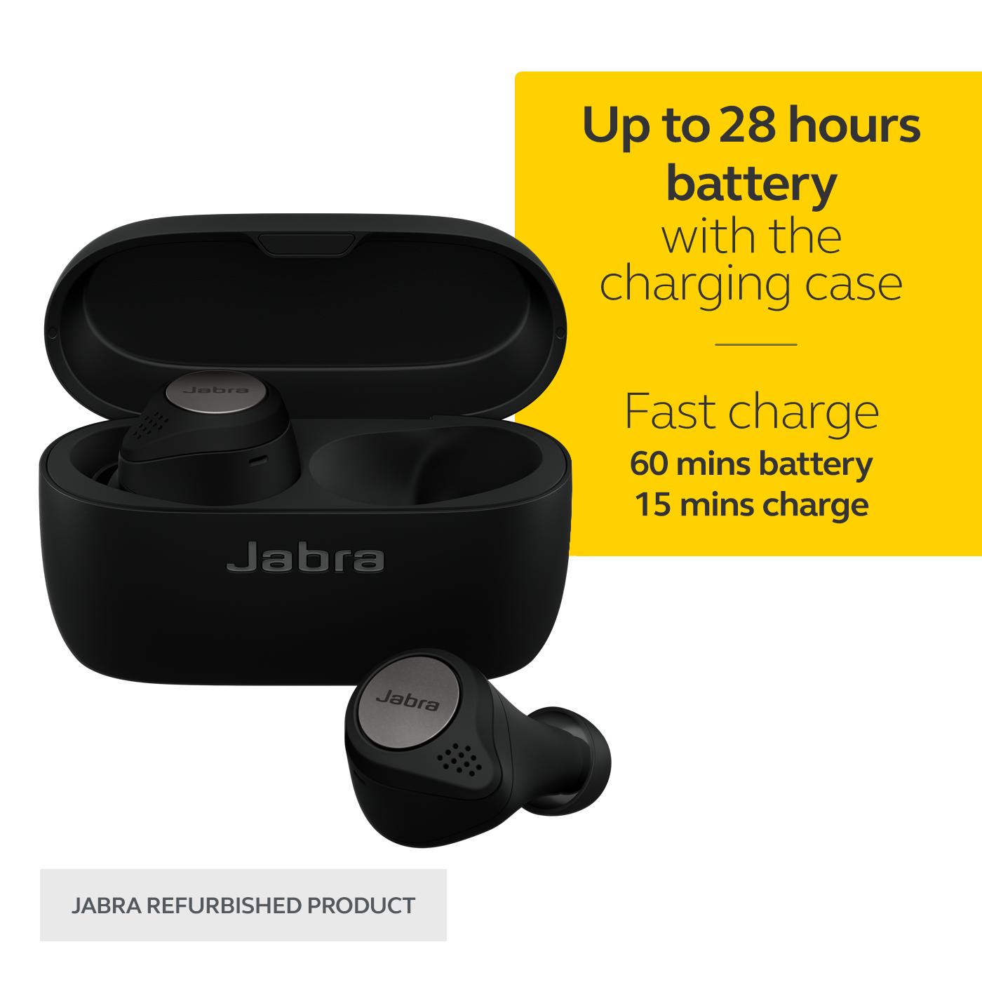 thumbnail 14 - Jabra Elite Active 75t True Wireless Earbuds Certified Refurbished