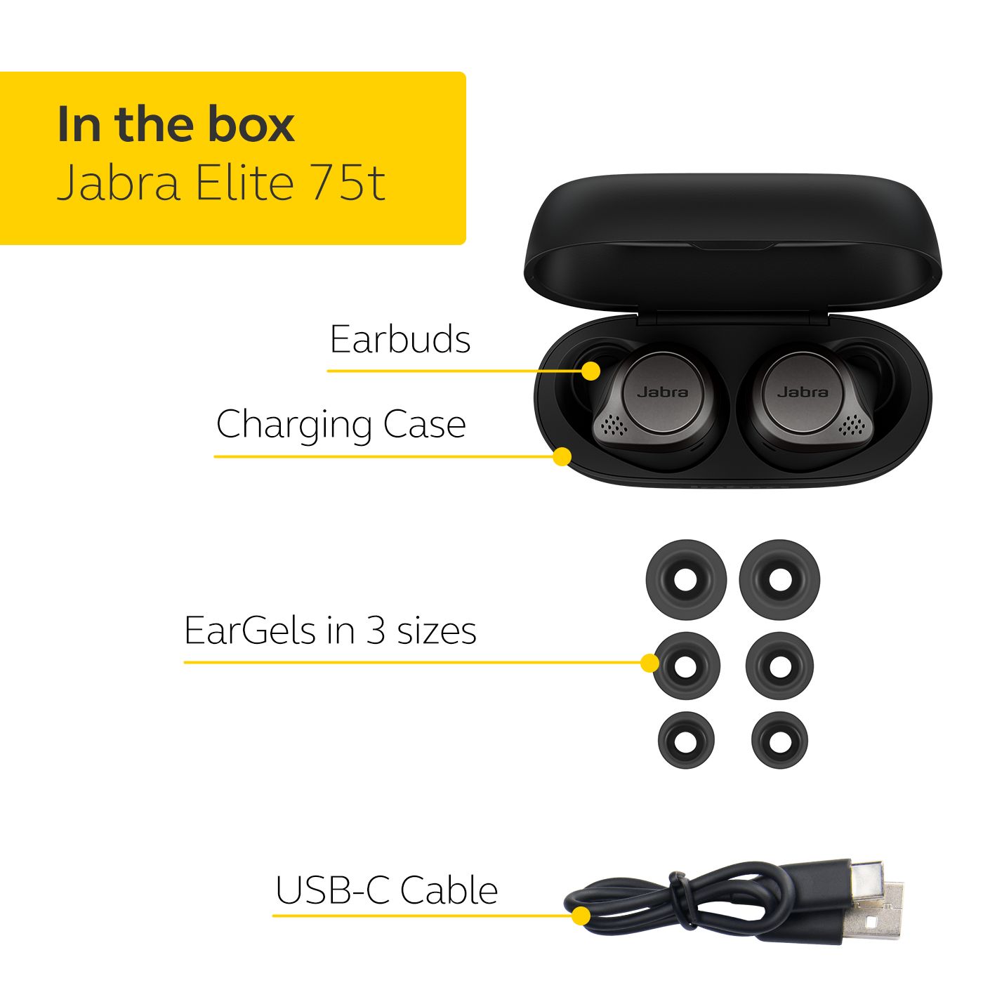 Jabra-Elite-75t-Voice-Assistant-Enabled-True-Wireless-earbuds-with-Charging-Case thumbnail 15