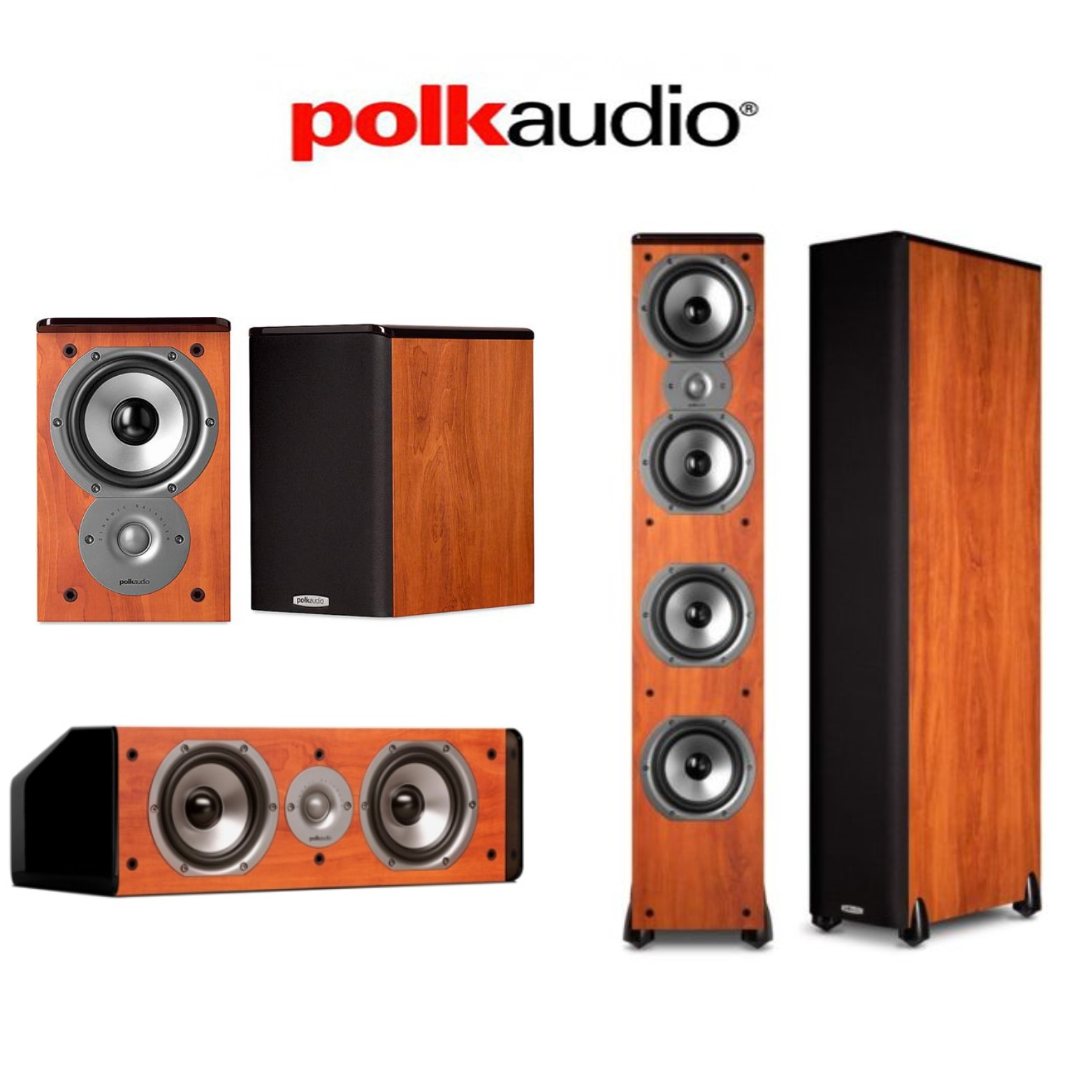 Polk Audio TSi500 Cherry