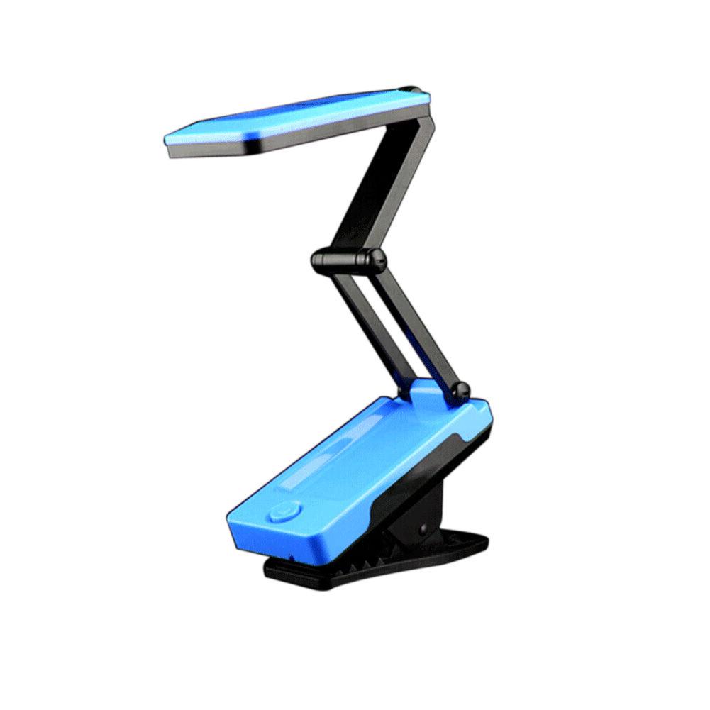 Lightweight Desk: Sturdy Foldable LED Light Desk Table Lamp Rechargeable