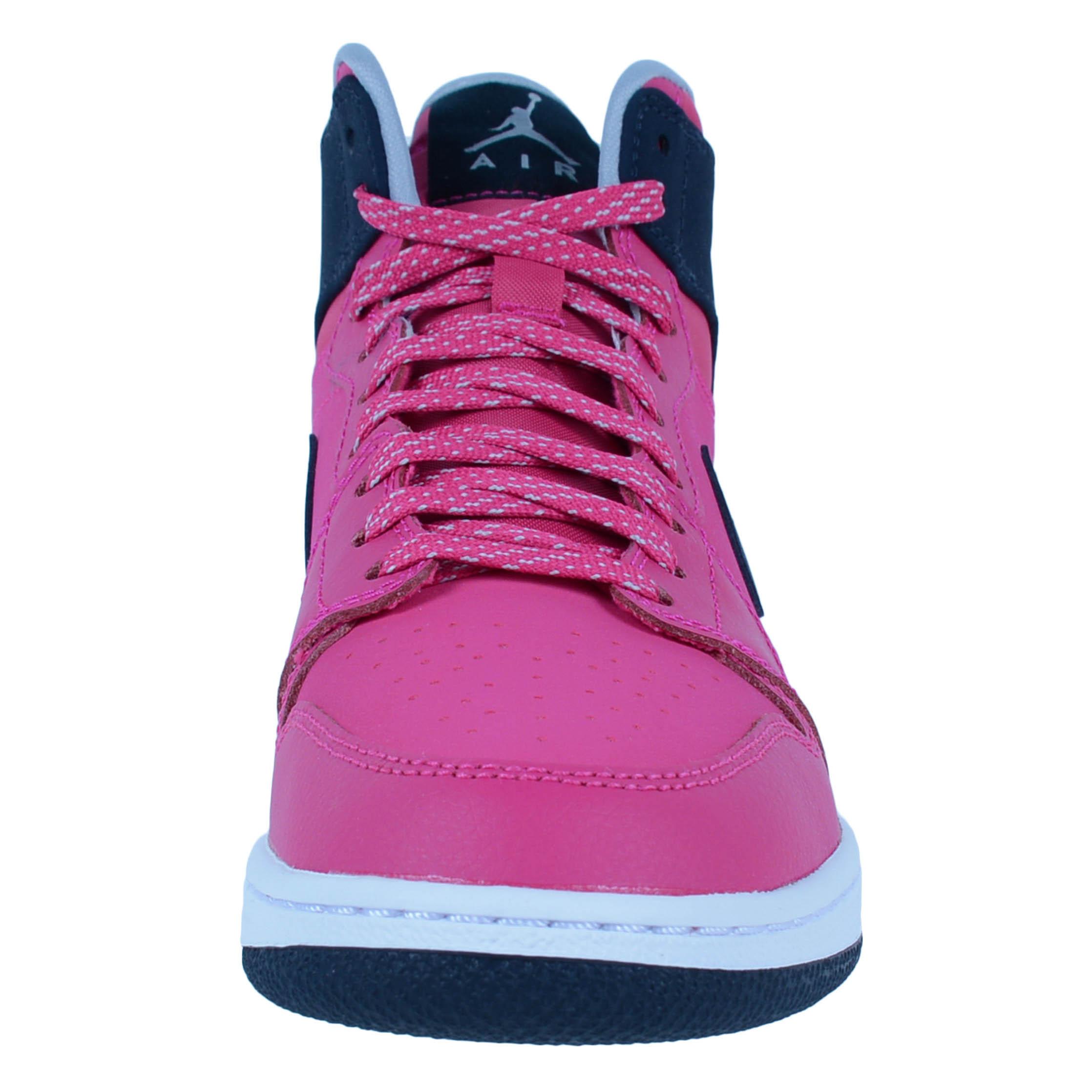1b6c9b56e26e ... coupon code for white neutral grey vivid pink black nike girls air  jordan 1 retro high