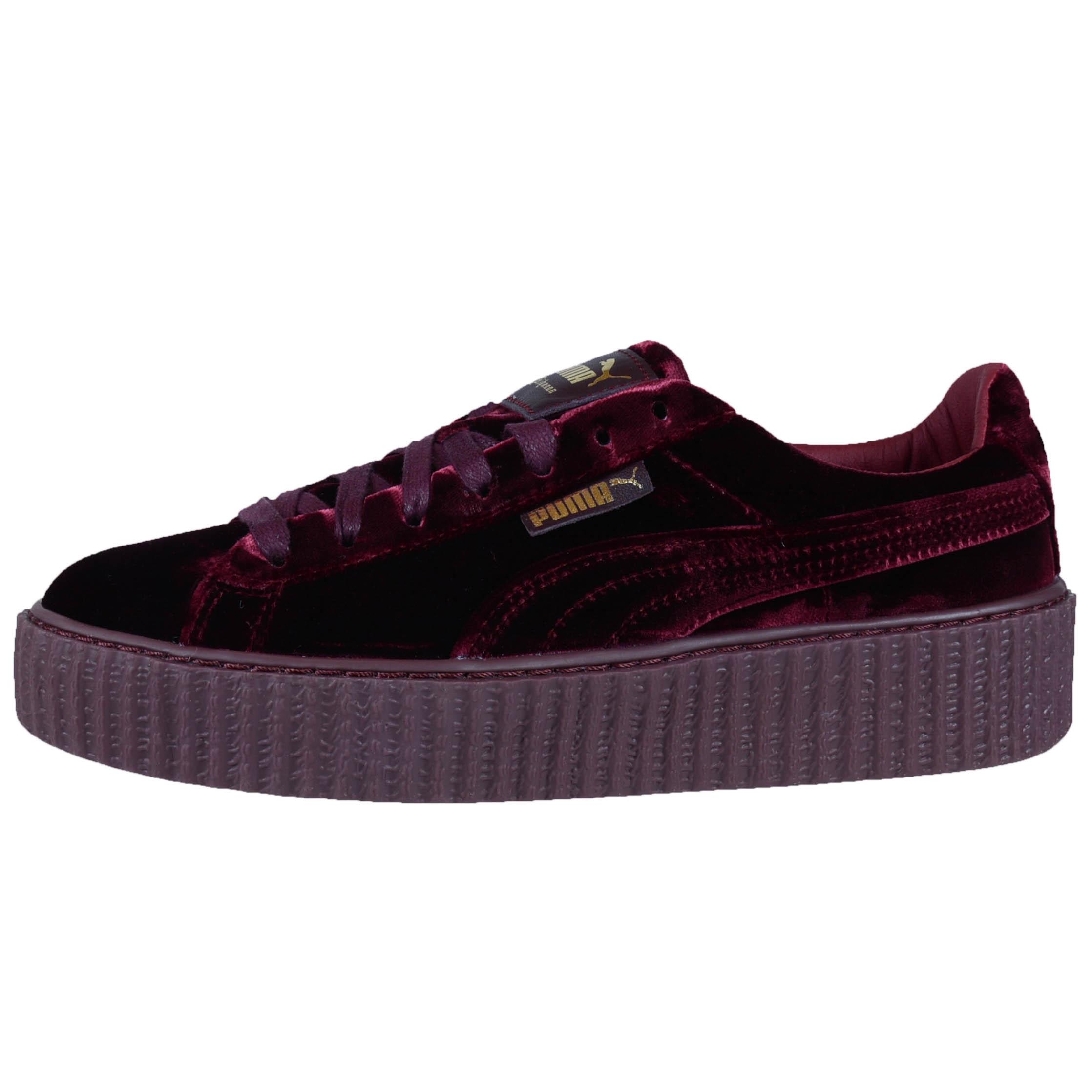 Puma Shoes Black Red Gray