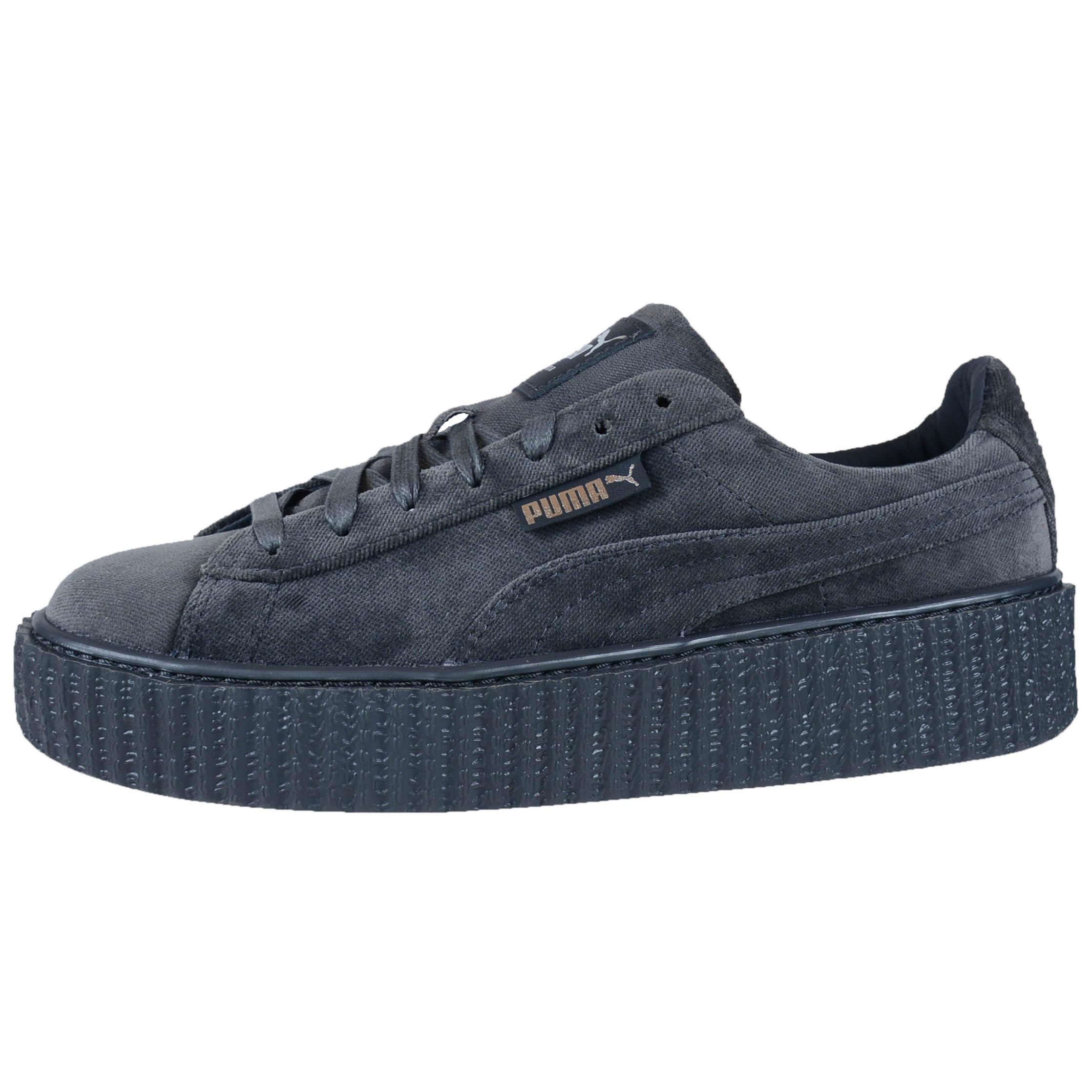 gray puma shoes