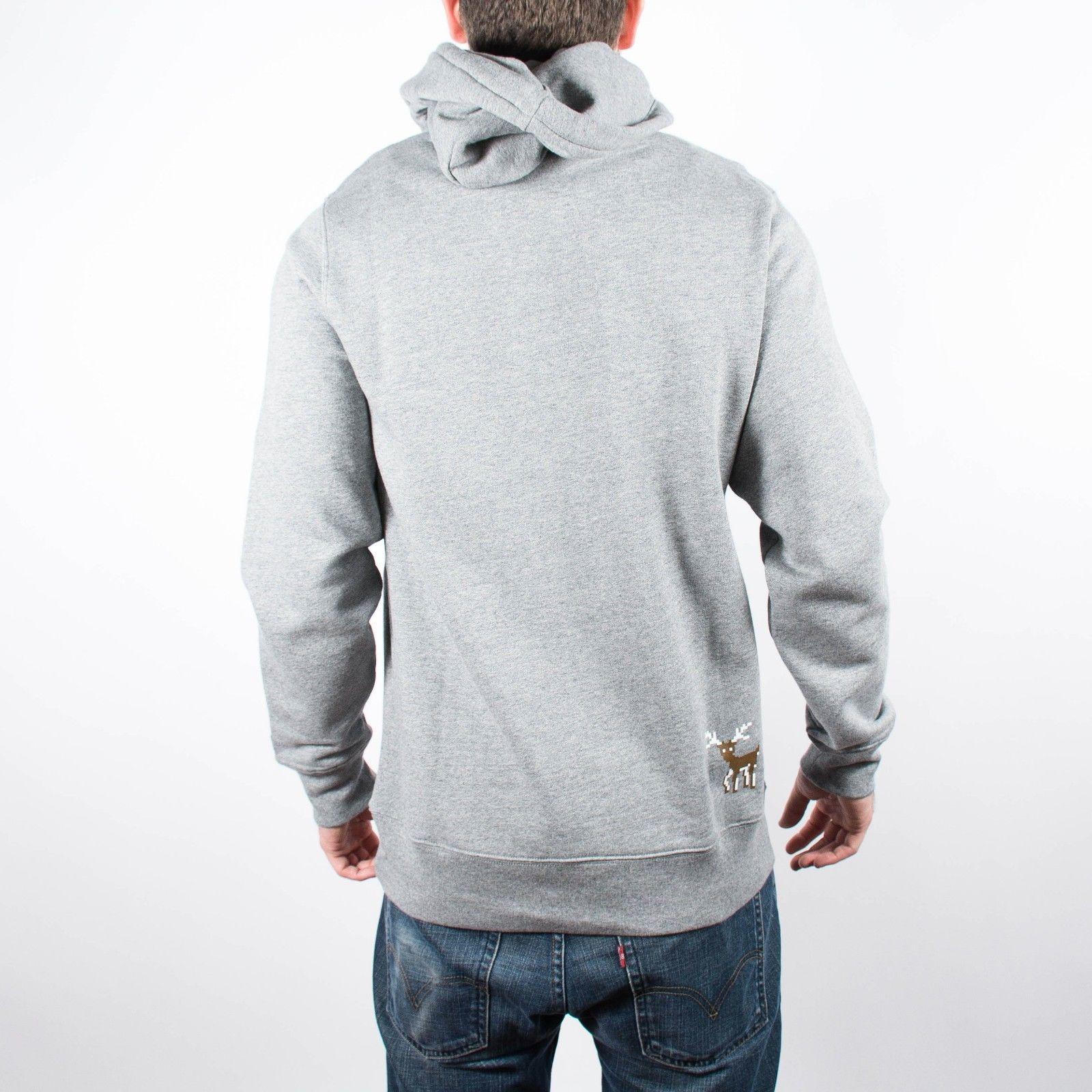 adidas Originals AUTH HOODY - Jersey con capucha - medium grey heather bIugBiyU6n