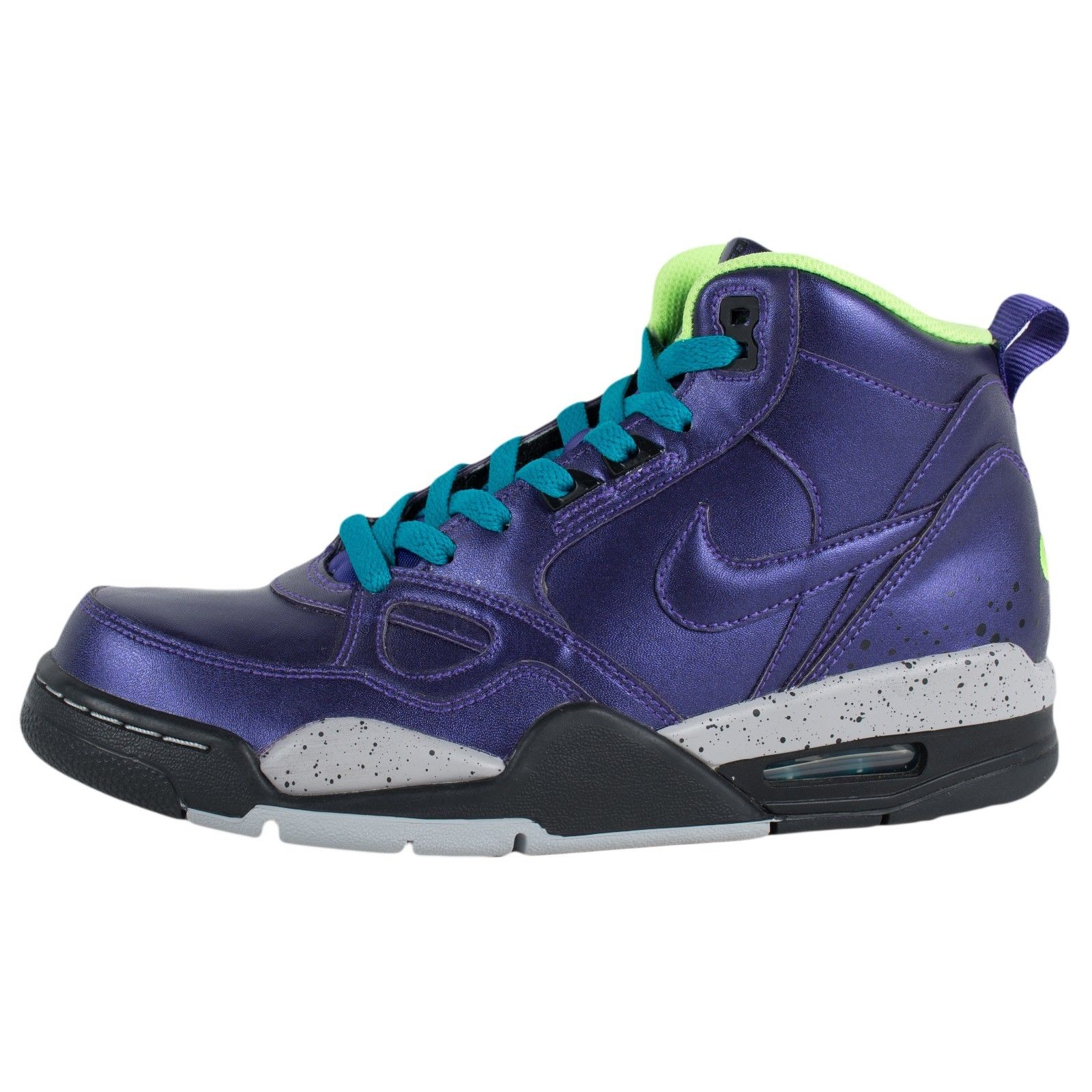 NIKE WOMENS FLIGHT 13 MID BASKETBALL SHOES ELECTRO PURPLE ...