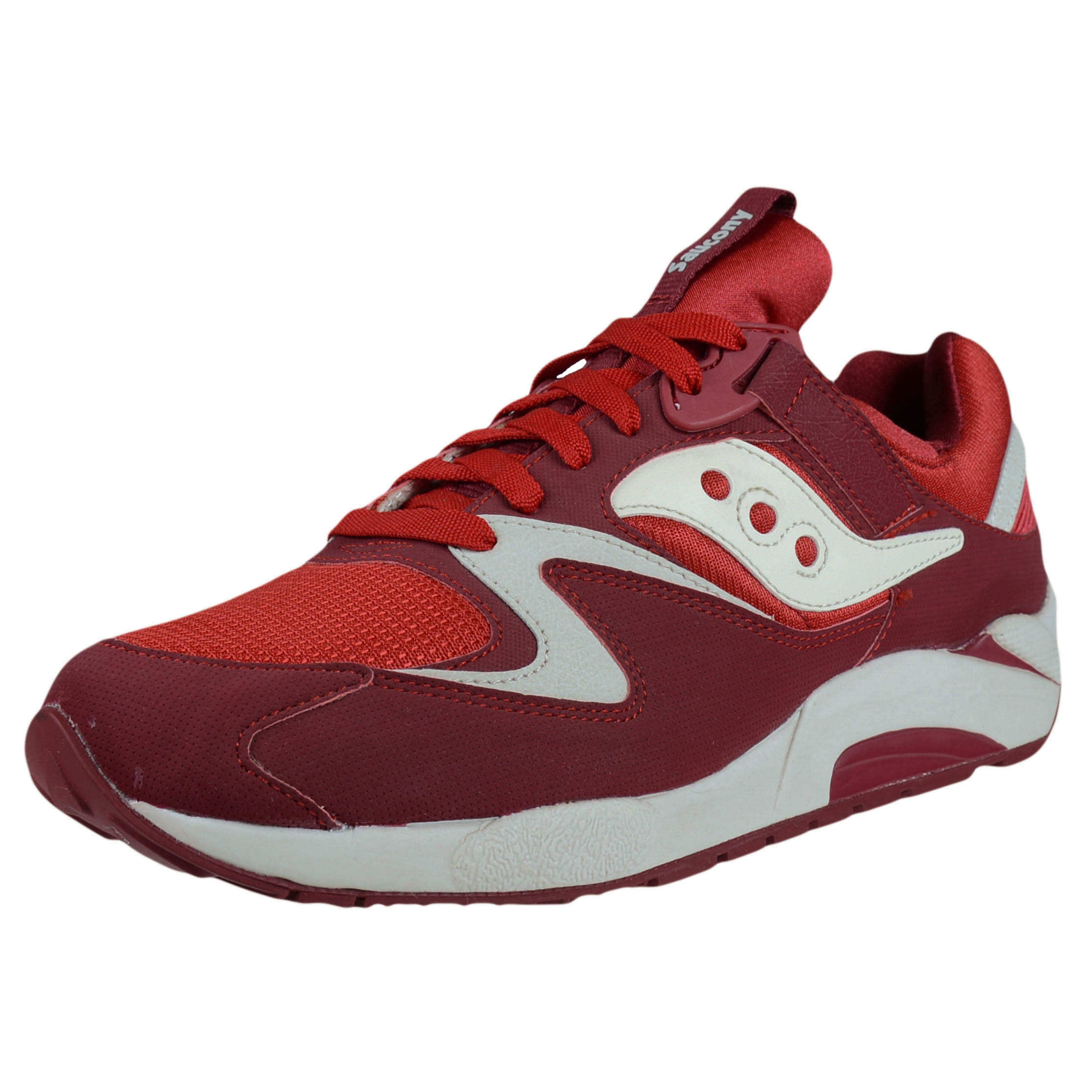 saucony hurricane 17 red