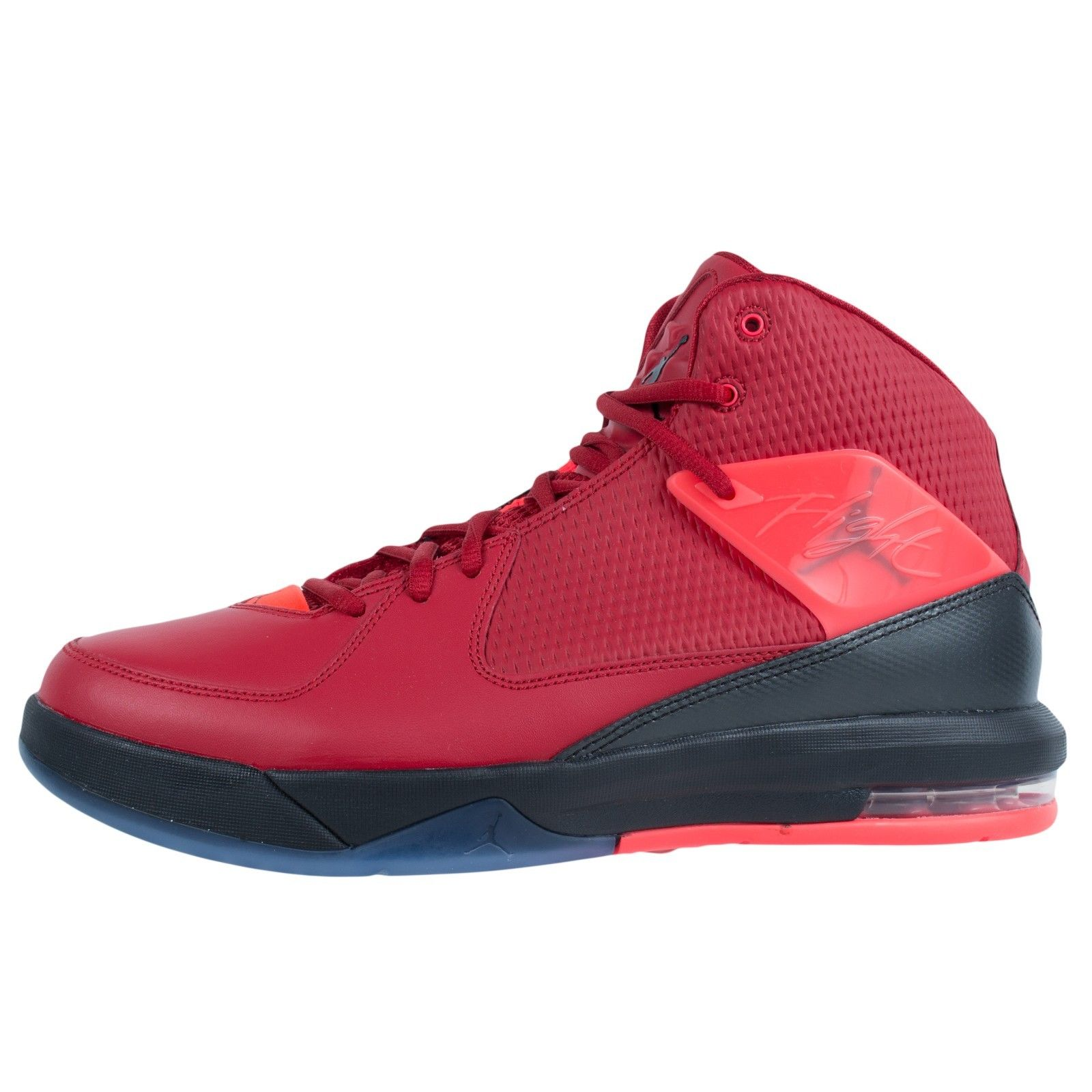 NIKE JORDAN AIR INCLINE BASKETBALL SHOES GYM RED INFRARED 23 BLACK 705796  607