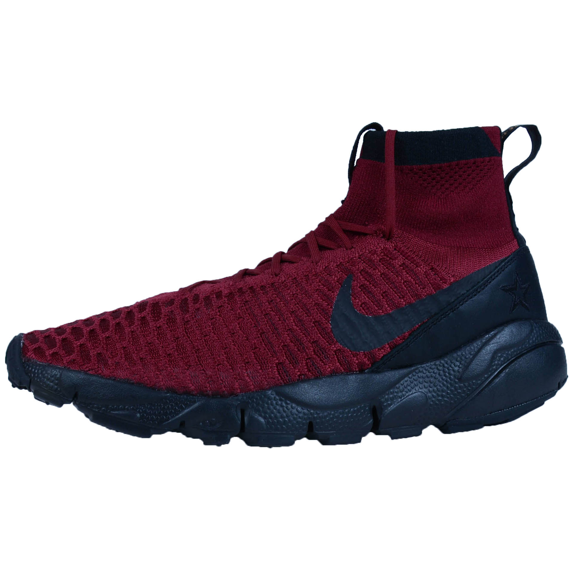 NIKE AIR FOOTSCAPE MAGISTA FK FC CROSS TRAINERS TEAM RED BLACK 830600 600