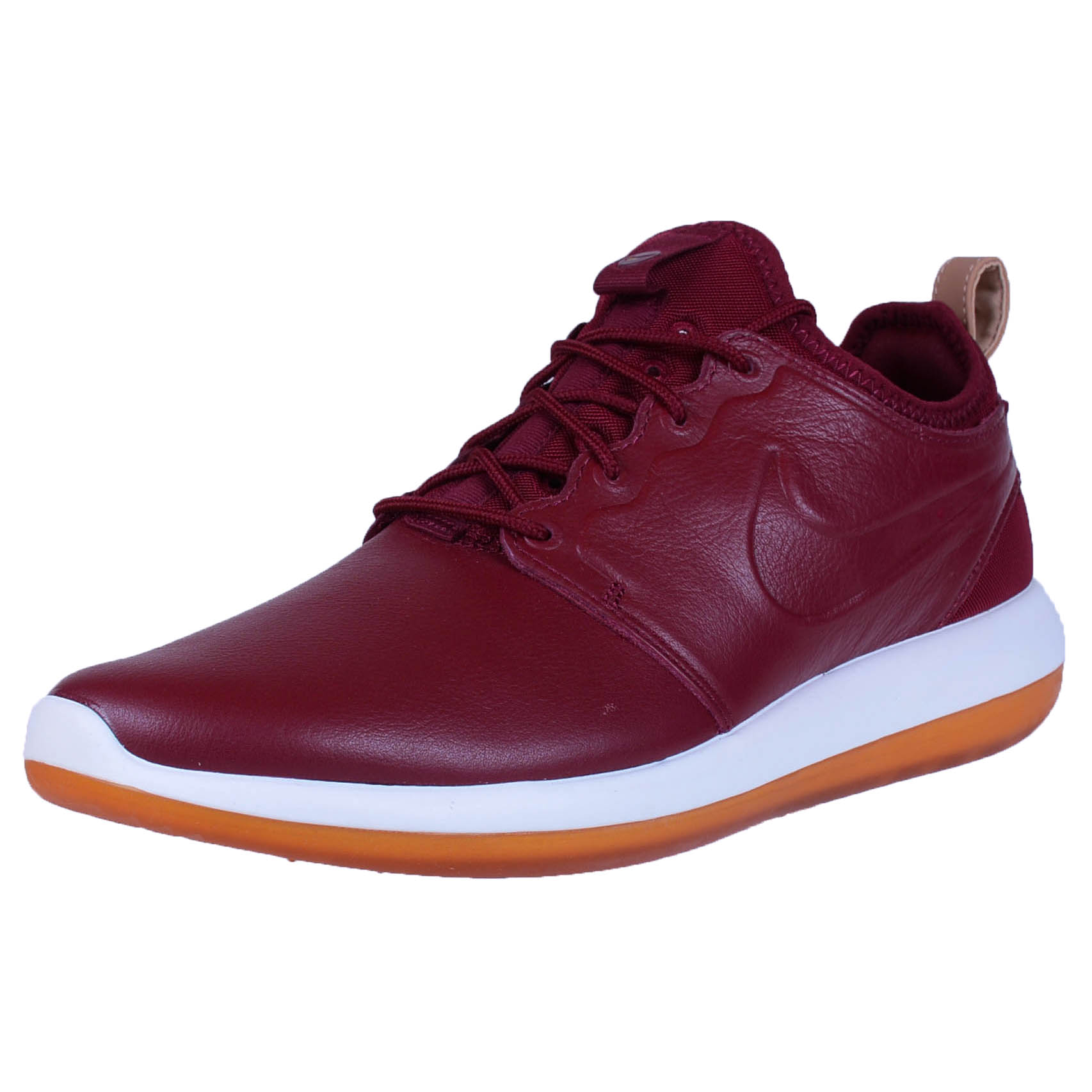 purchase cheap 89c26 36552 ... nike roshe two leather premium team red white mens fashion 881987 600
