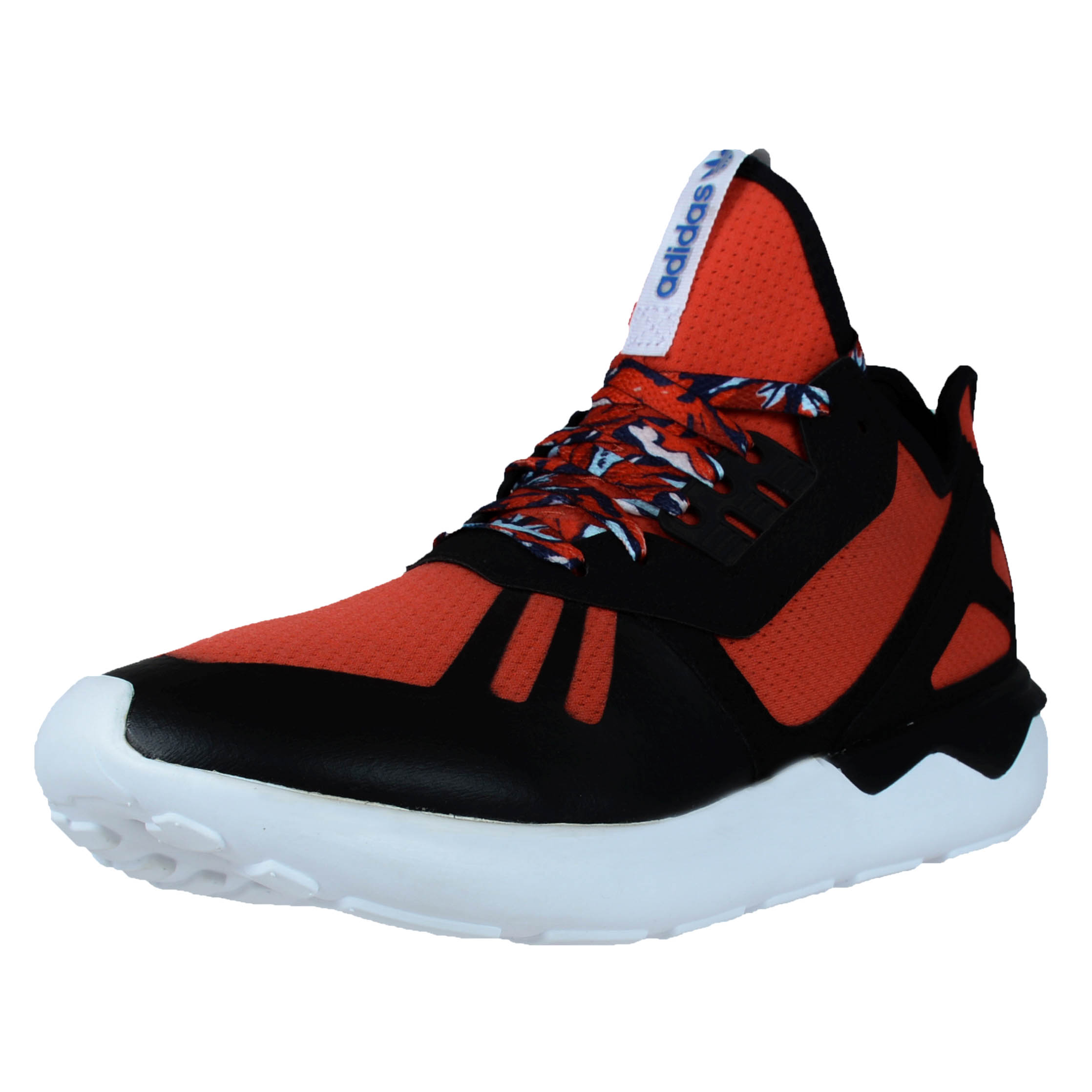 ADIDAS TUBULAR RUNNER RUNNING SHOES ACID WASH AMAZON RED BLACK B25952