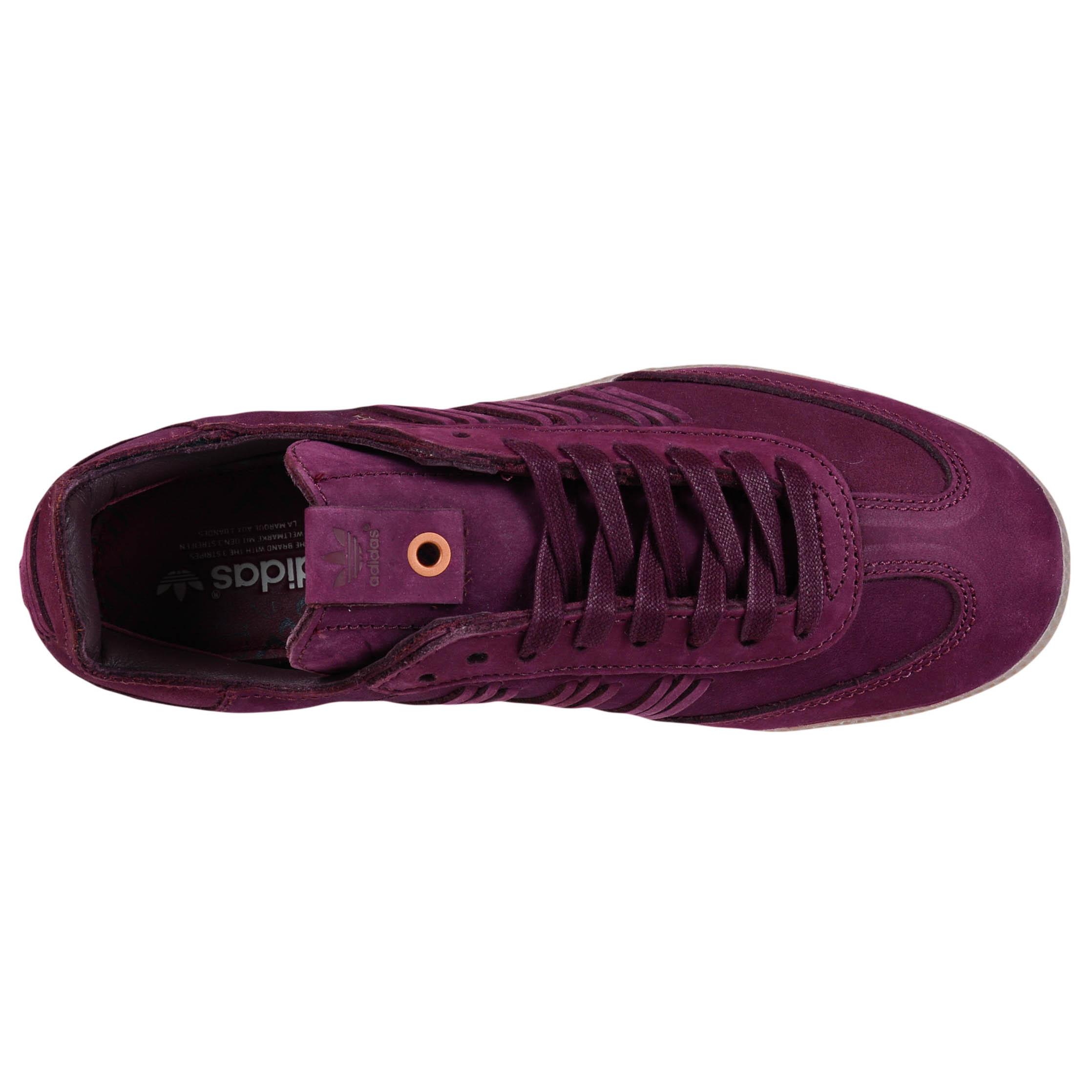 maroon samba adidas