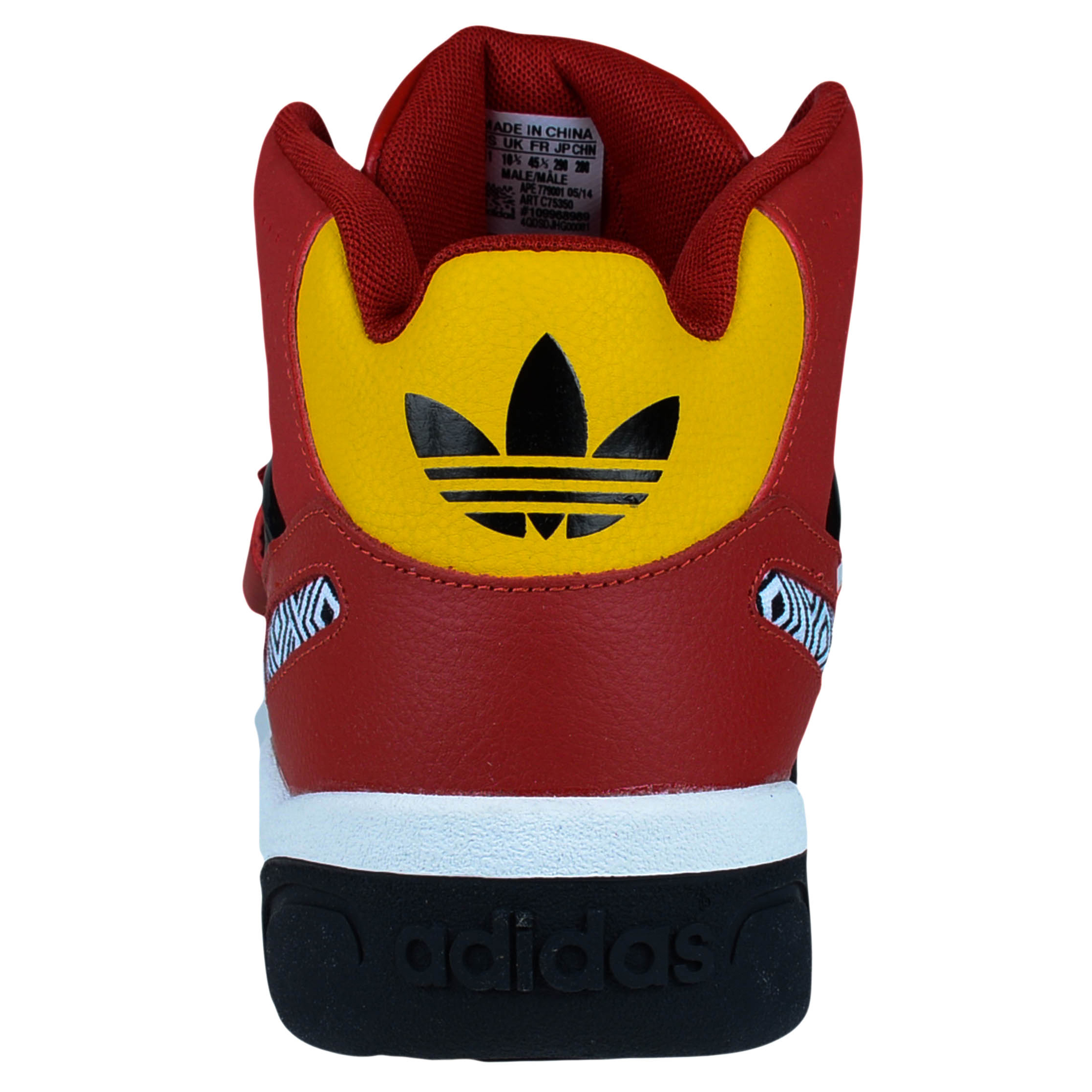 brand new c48b9 e8c18 ... ADIDAS MUTOMBO TR BLOCK CROSS TRAINERS CORE POWER RED CORE BLACK GOLD  C75350 ...