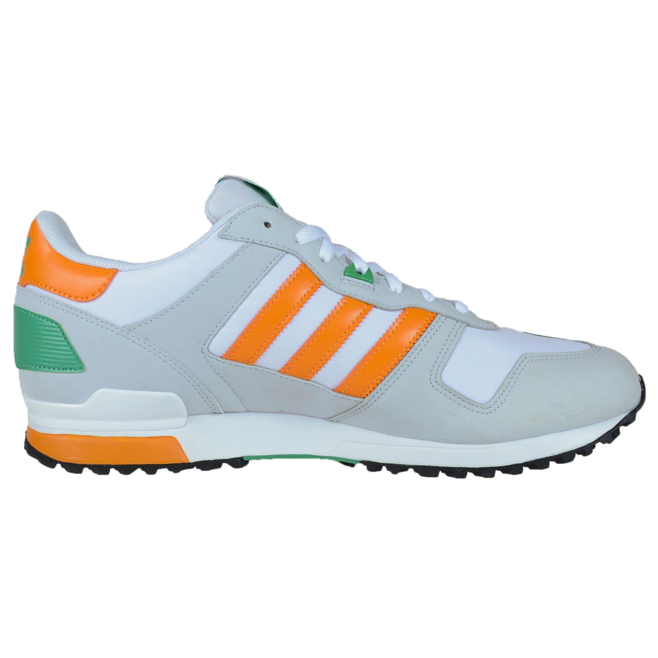... orange grey adidas zx 700 retro running shoes running white orange beam  clear adidas zx 700 ...