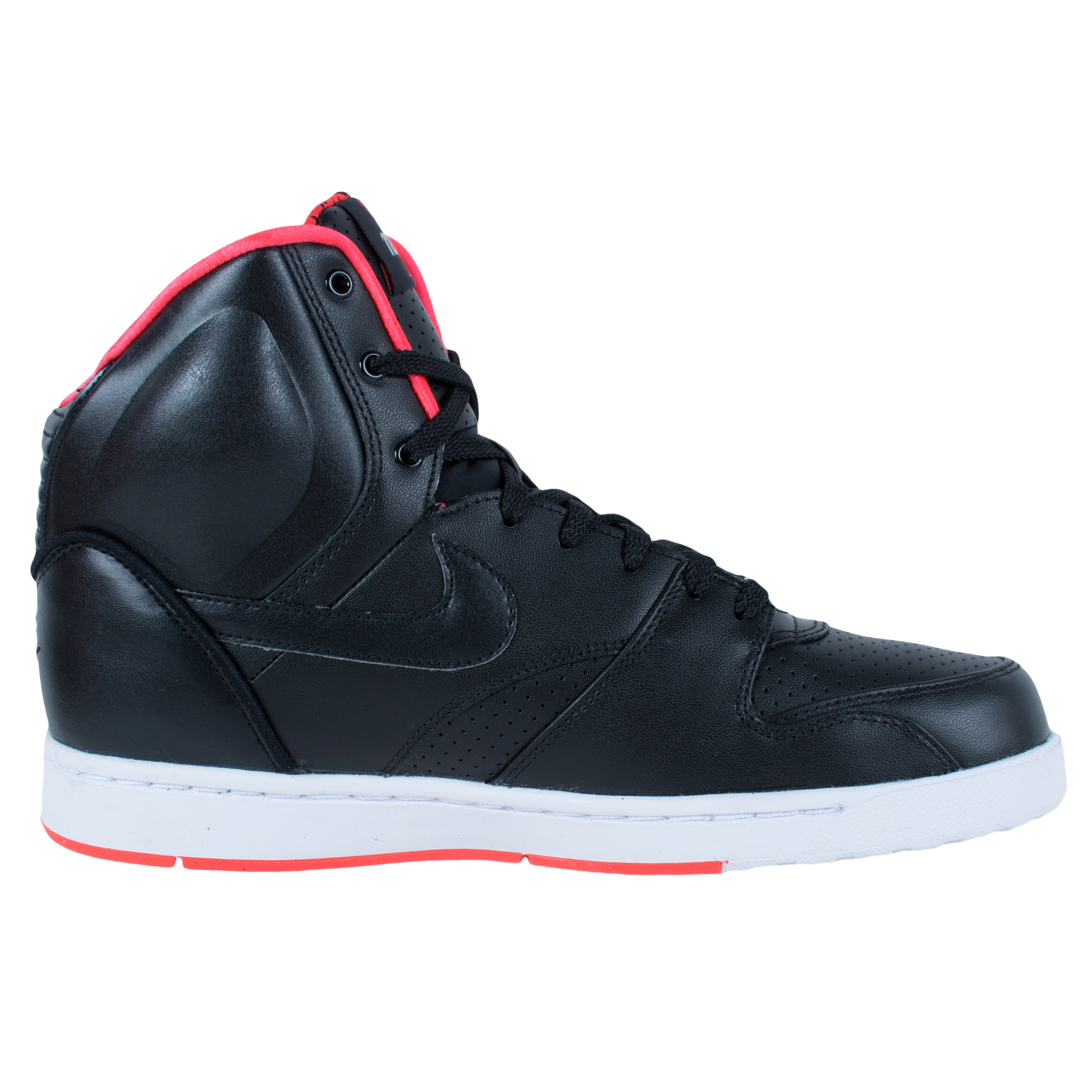 NIKE RT1 HIGH SNEAKERS BLACK BLACK UNIVERSITY RED 354034 006