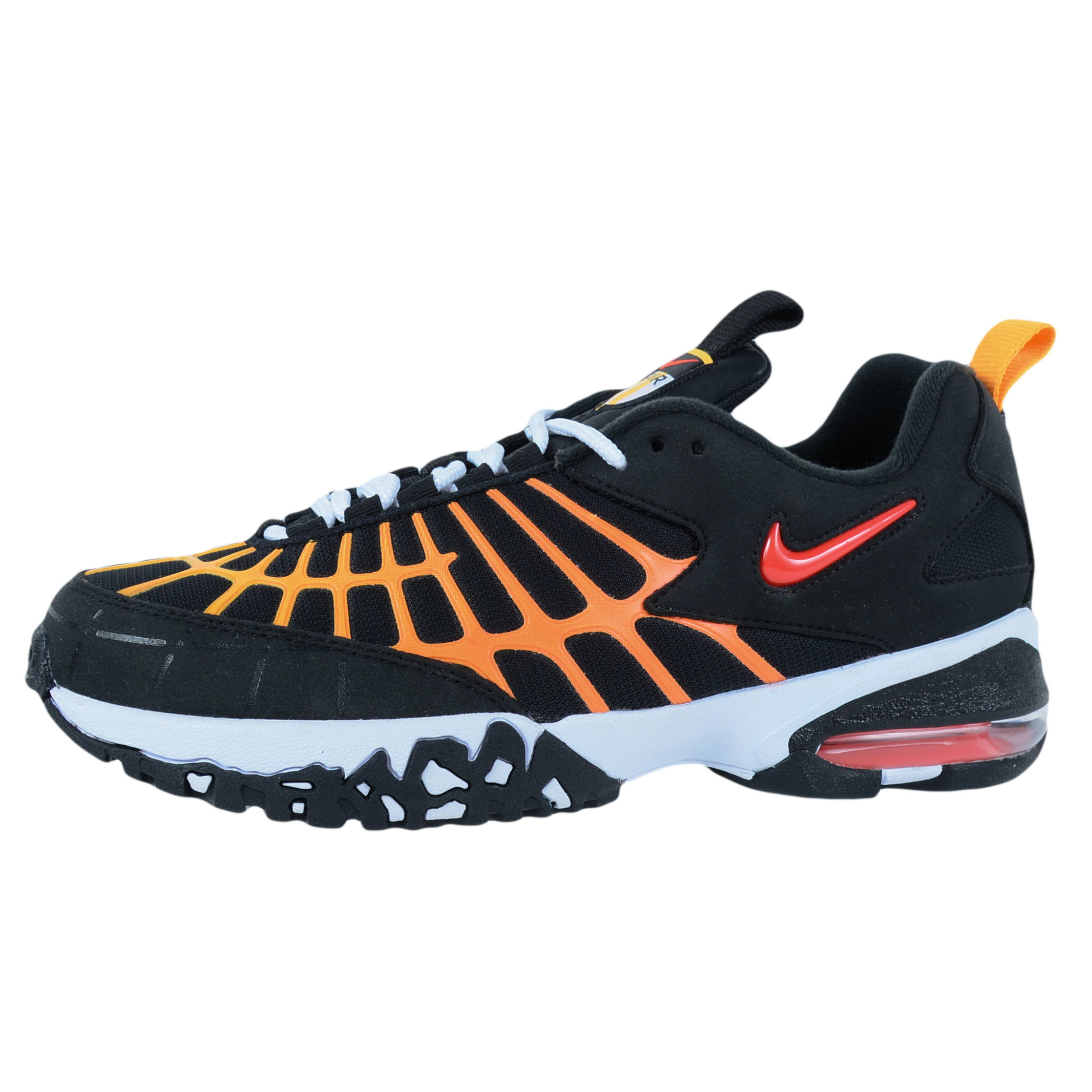... NIKE AIR MAX 120 TRAINERS BLACK BRIGHT CRIMSON LASER ORANGE WHITE 819857  003 ... 2ad2f5319