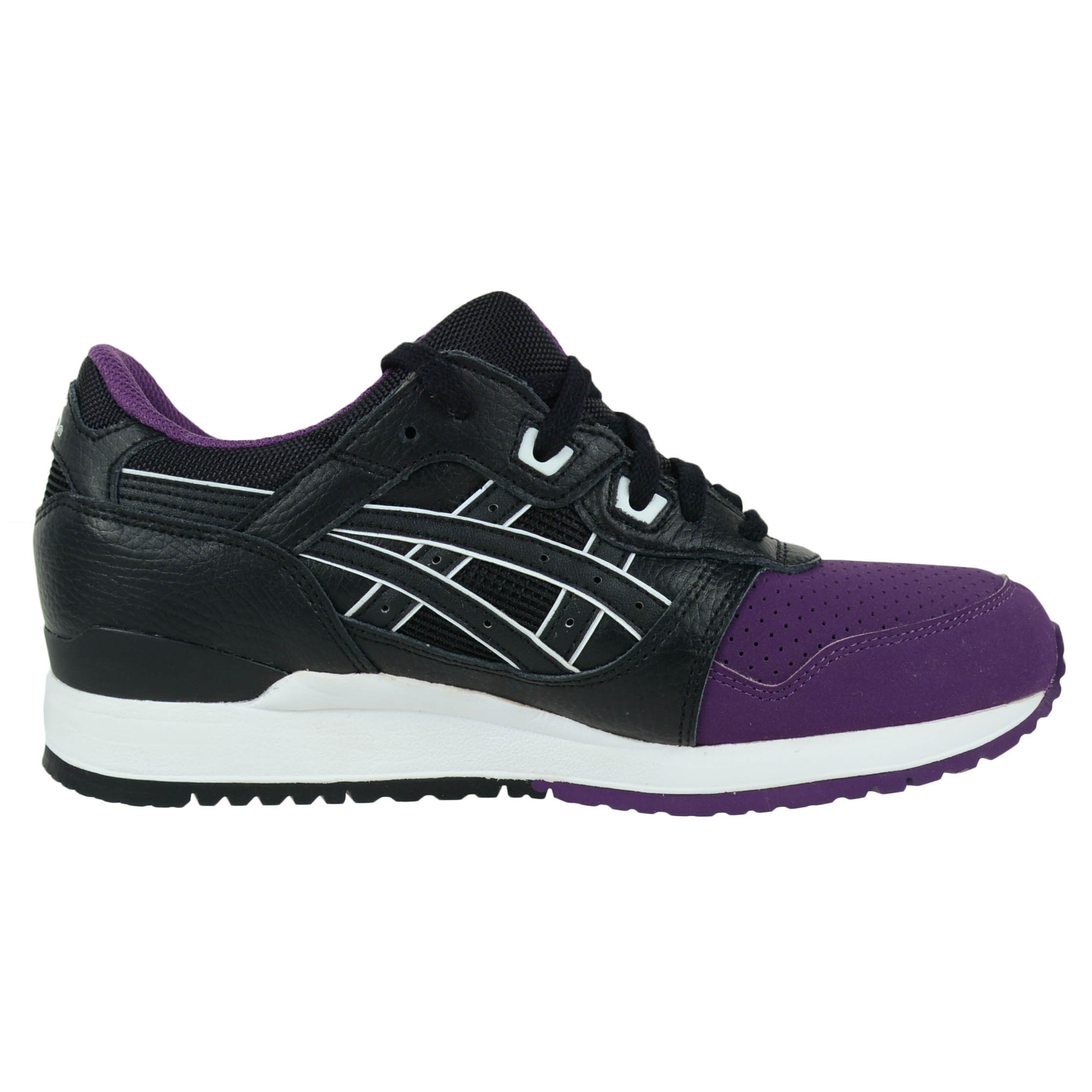 ASICS GEL-LYTE III RUNNING SHOES 50/50 PACK PURPLE BLACK H5V0L 3390