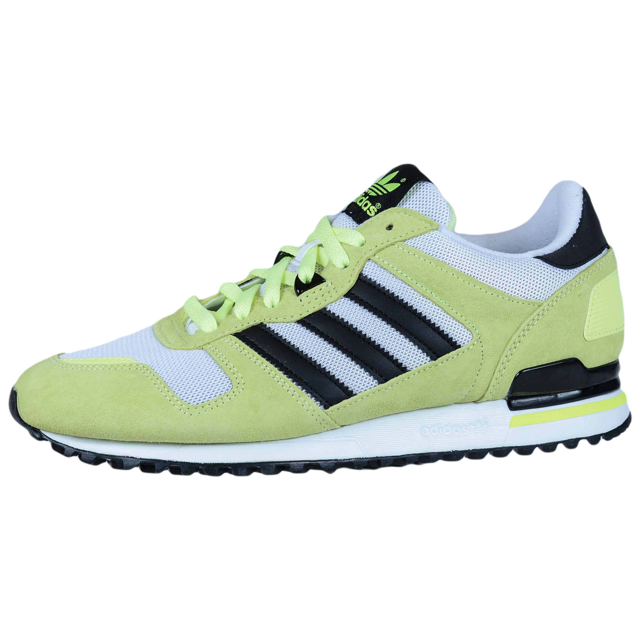 ADIDAS ZX 700 LIGHT FLASH YELLOW GREEN BLACK WHITE ORIGINALS M19394 MENS  RUNNING