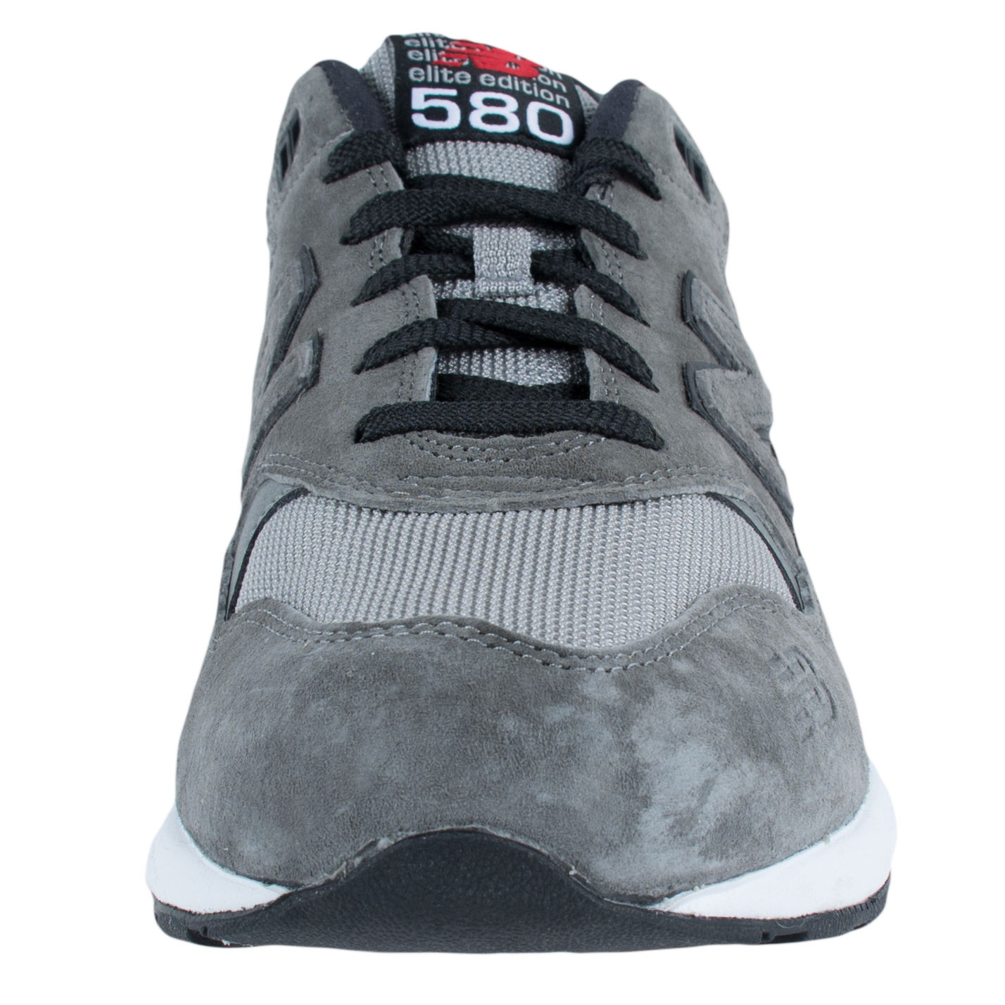 NEW BALANCE ELITE EDITION 580 CASUAL RUNNING SNEAKERS CHARCOAL RED MRT580GK