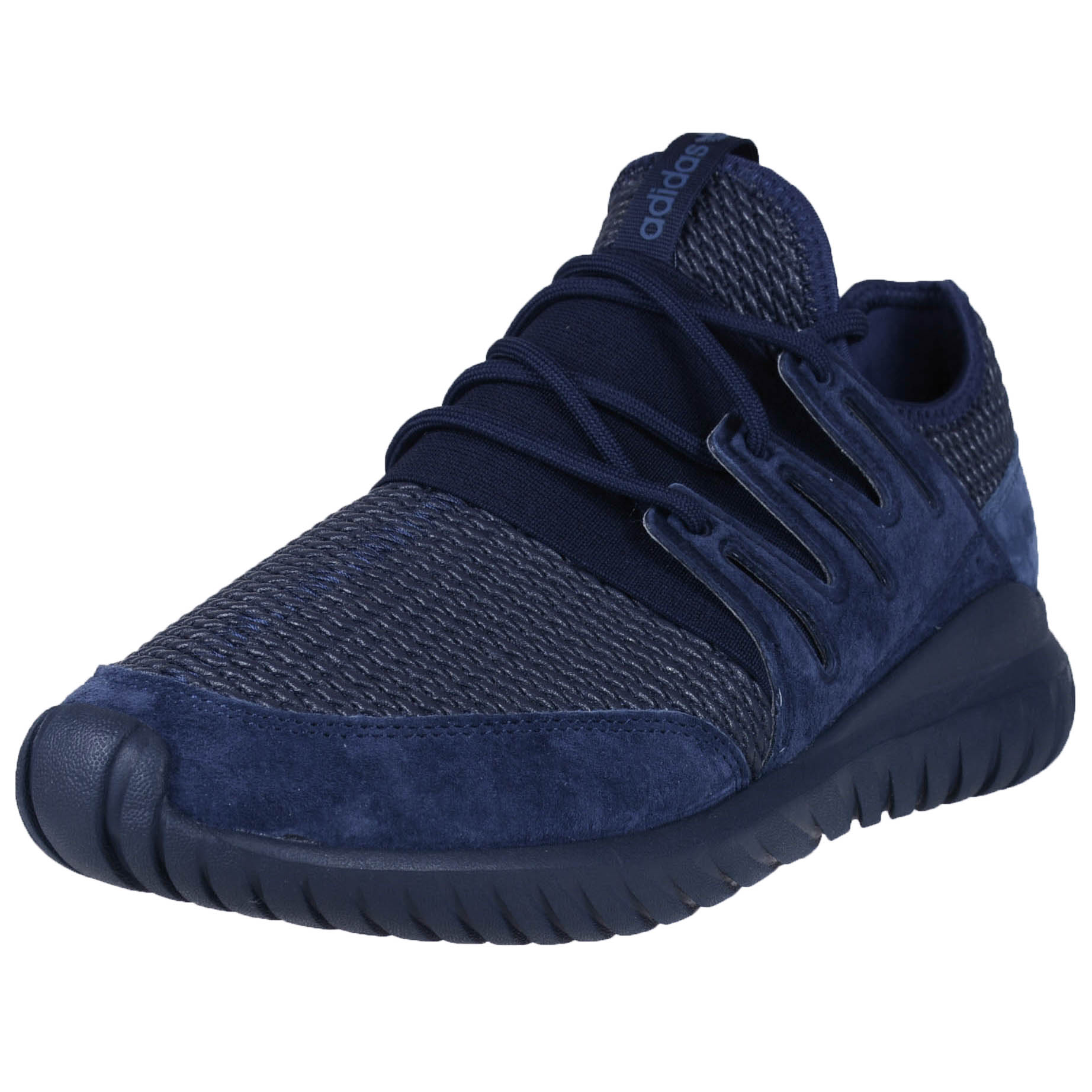 46c1f5ae4aee Details about ADIDAS TUBULAR RADIAL COLLEGIATE NAVY BLUE S76722 ORIGINALS  MENS RUNNING FASHION