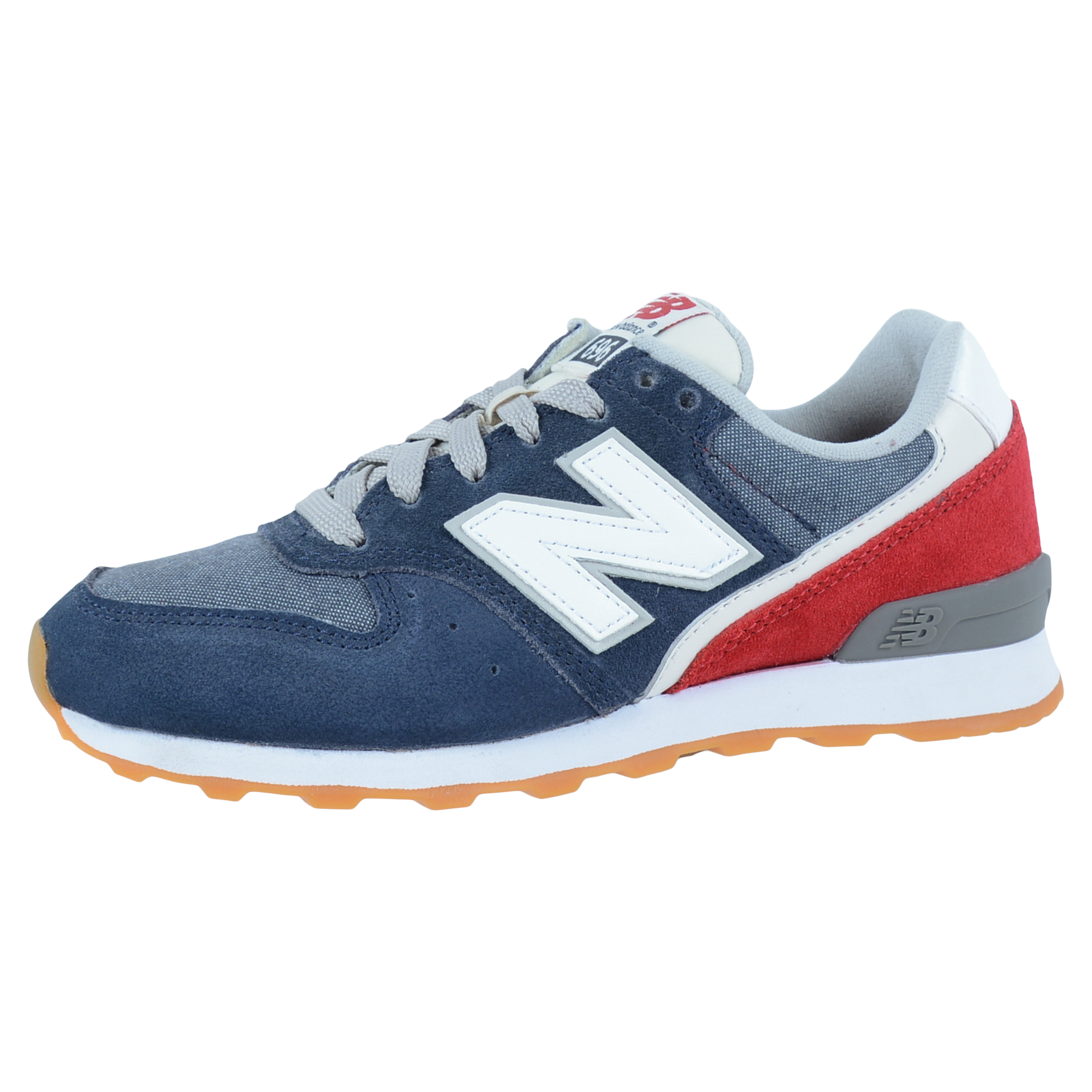 NEW BALANCE WOMEN\u0027S 696 CASUAL RUNNING SHOES NAVY RED WHITE WL696IRS