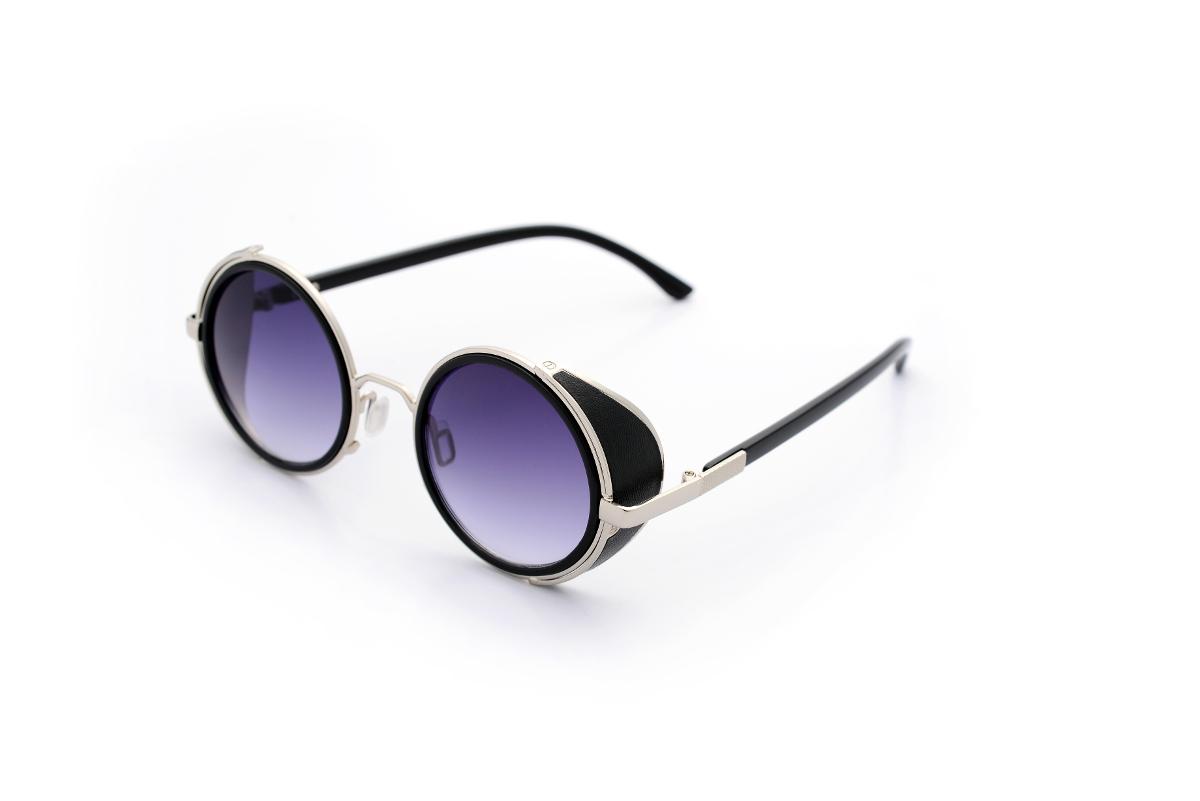 e6f454b4287 Steampunk Sunglasses 50s Round Glasses Cyber Goggles Vintage Retro Style  Blinder
