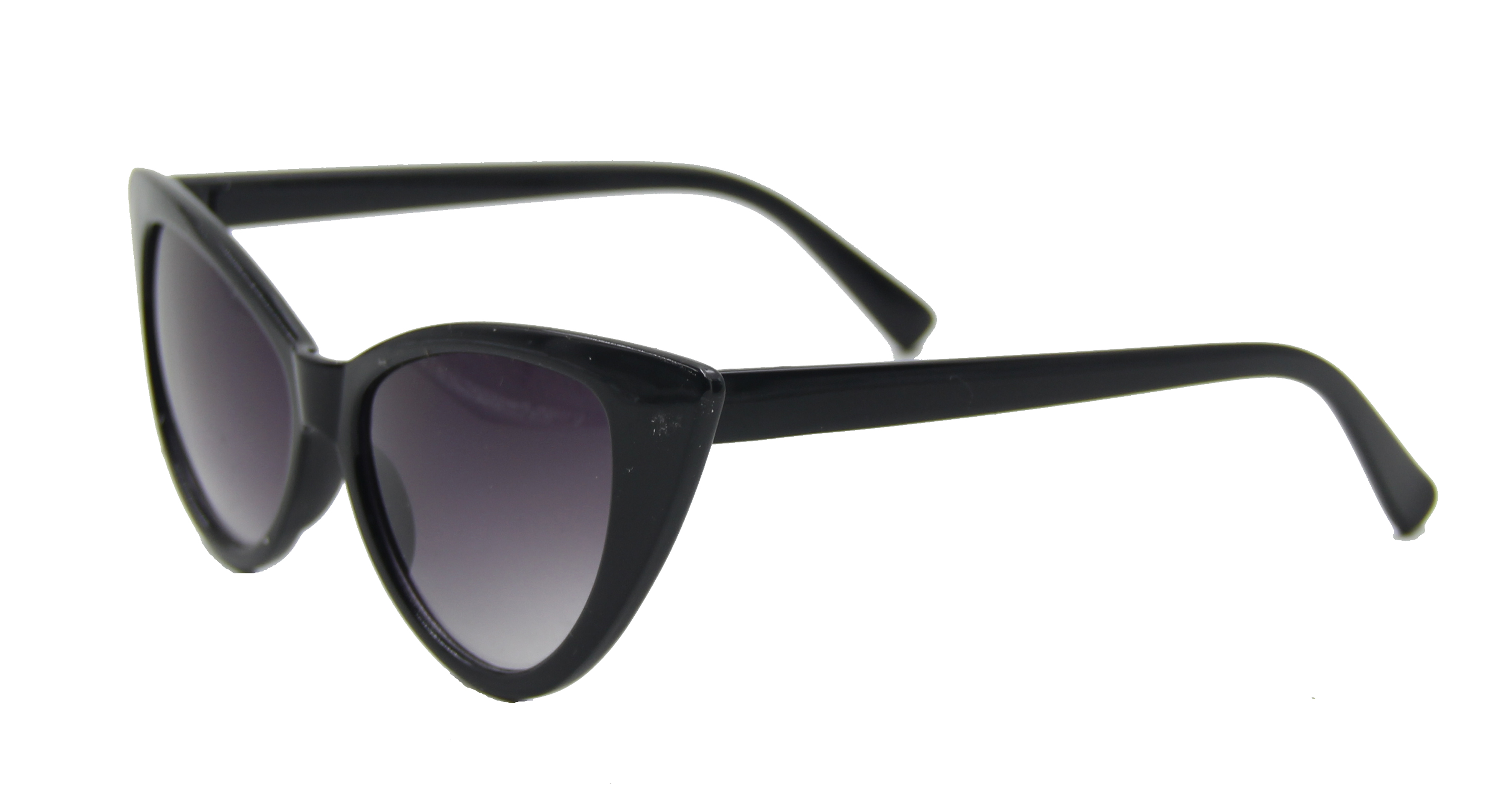 ASVP Shop Lunettes de soleil rétro œil-de-chat pour femme Tendance B3 - noir - kEvKp