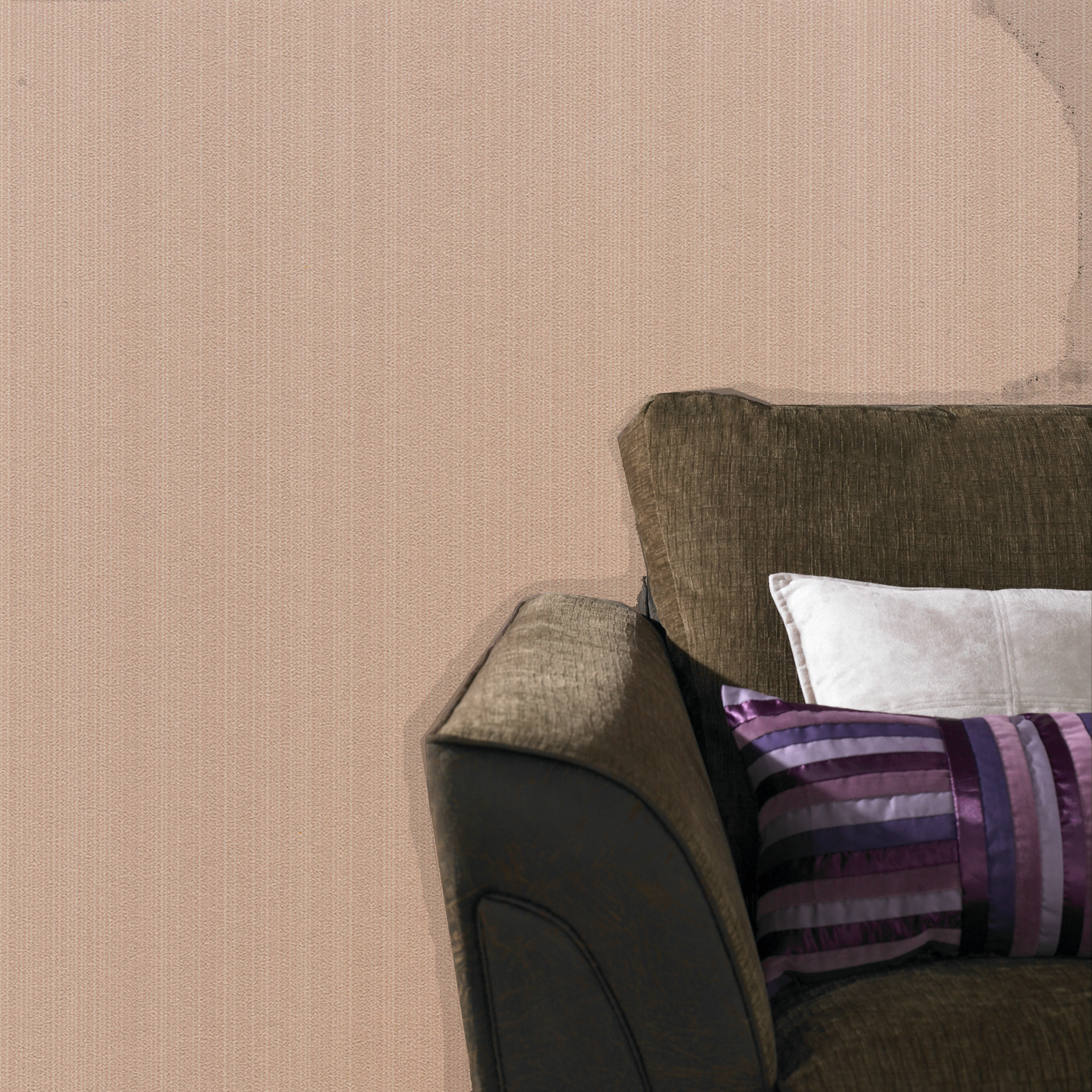 Superfresco Easy Paste The Wall Affinity Textured Plain Light Brown Wallpaper