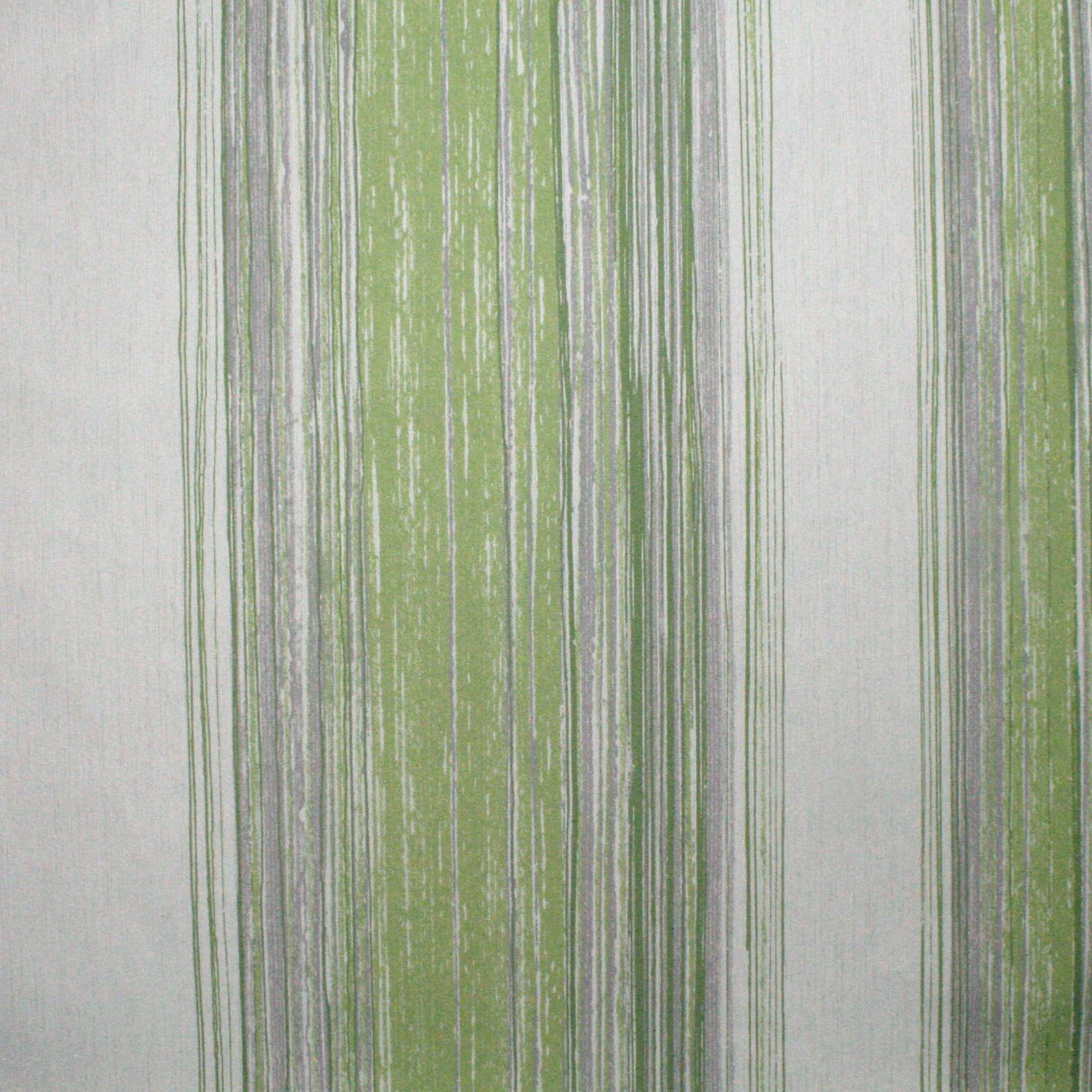 Superfresco Easy PASTE THE WALL Twine Pear Green Stripe Wallpaper