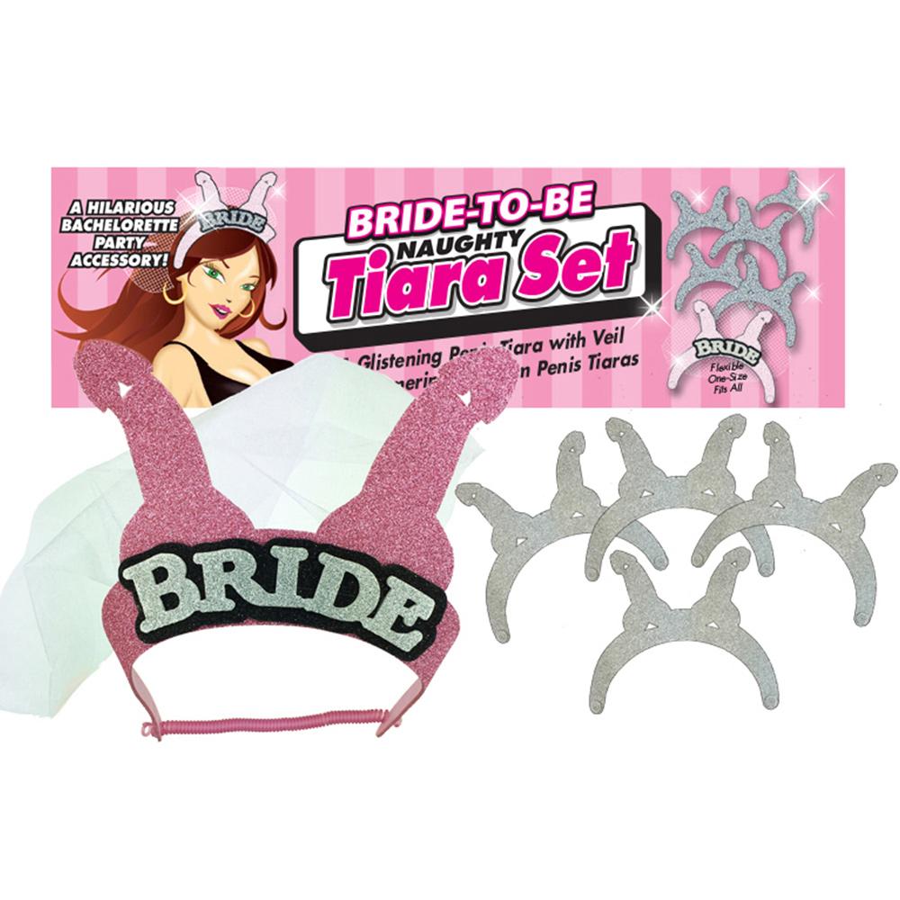 Bride to be Naughty Tiara