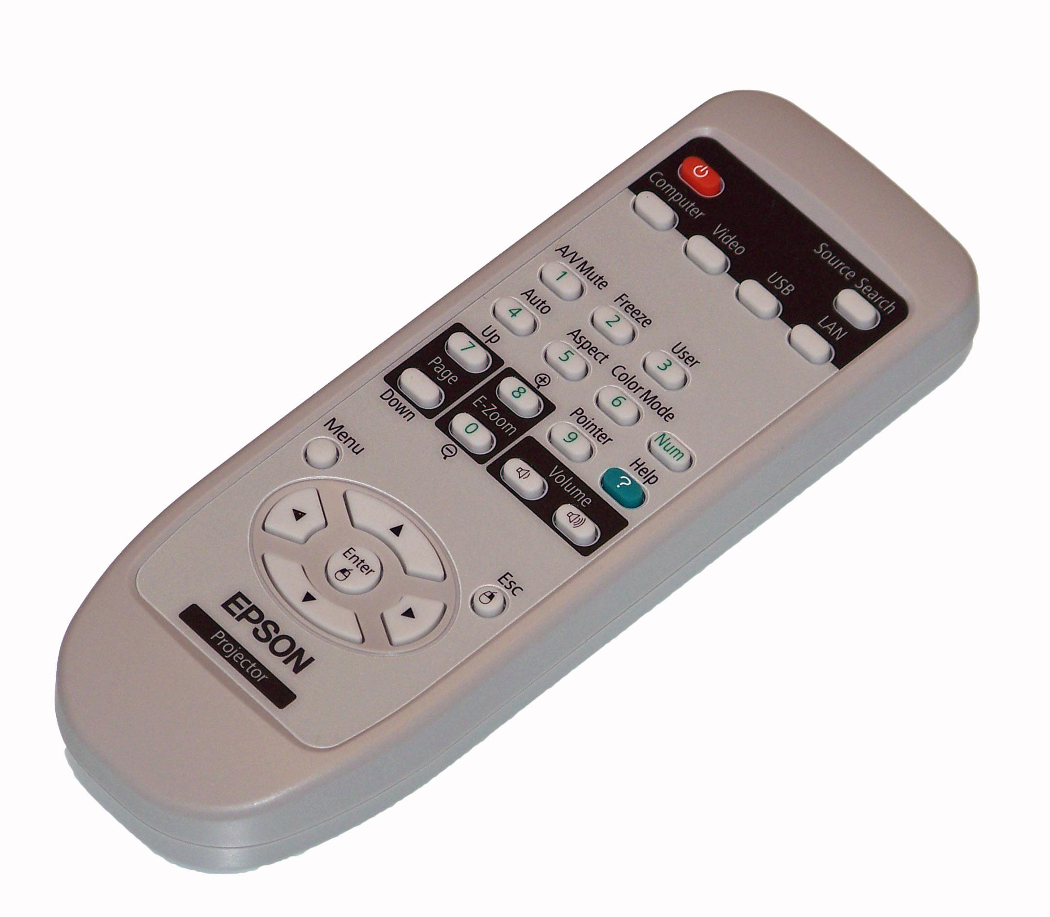 New Remote control for Epson PowerLite EX51 EX71 X9 VS200 822p Projector