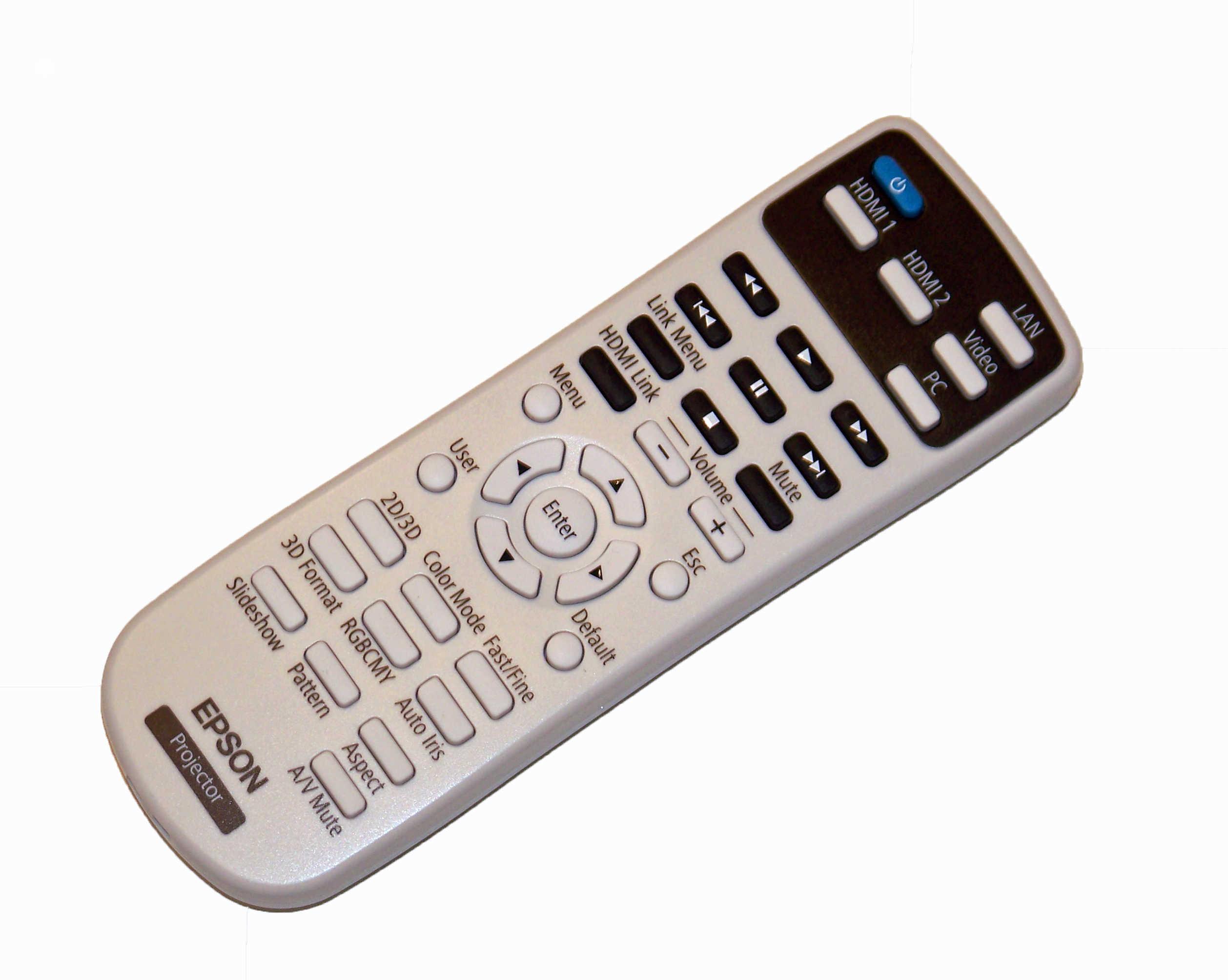 Epson Home Cinema 2000 Home Cinema 2030 NEW Projector Remote Control
