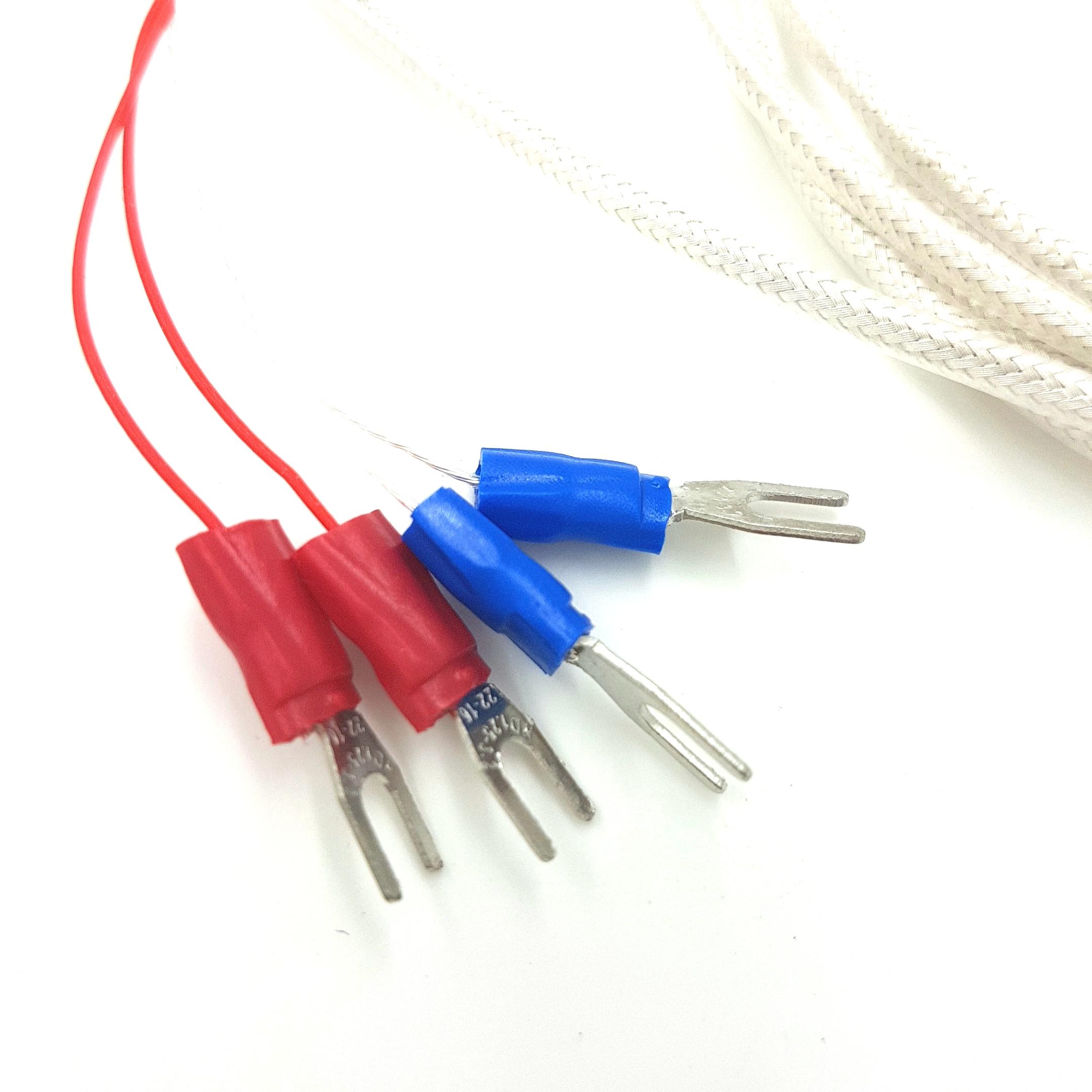 4 Wires Class A Rtd Pt100 Temperature Sensor  Probe