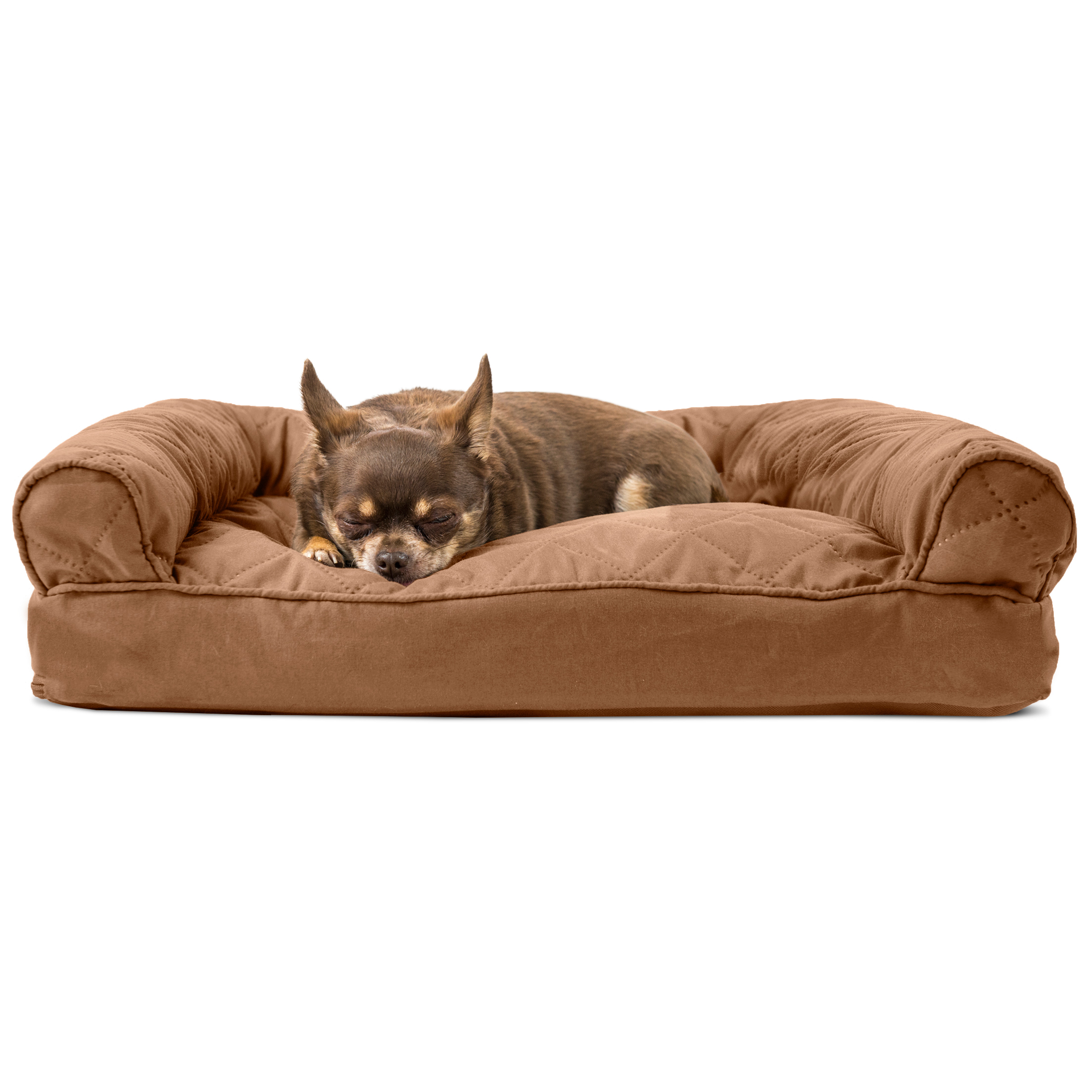 Furhaven Quilted Pillow Sofa Dog Bed Pet Bed Ebay