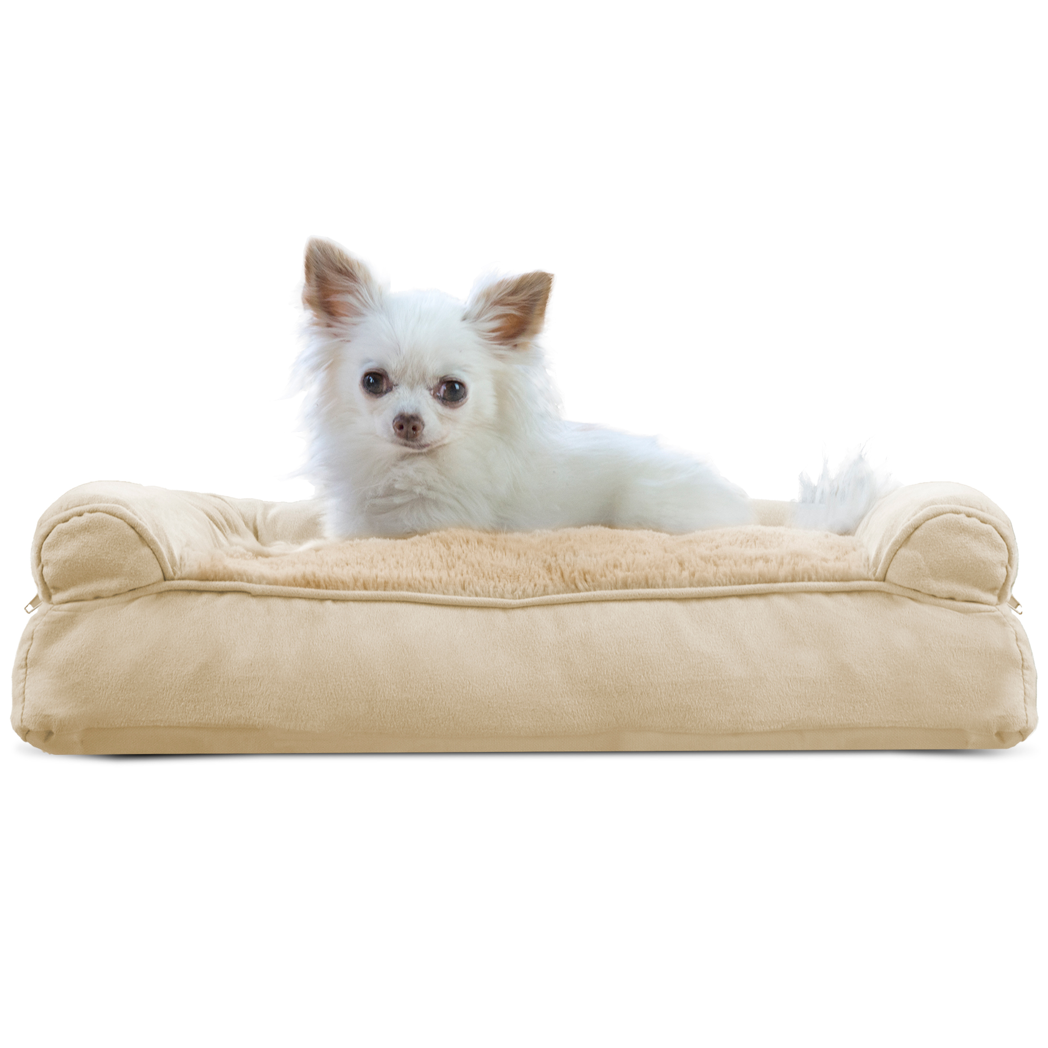 Furhaven Plush Sofa Dog Bed Pet Bed