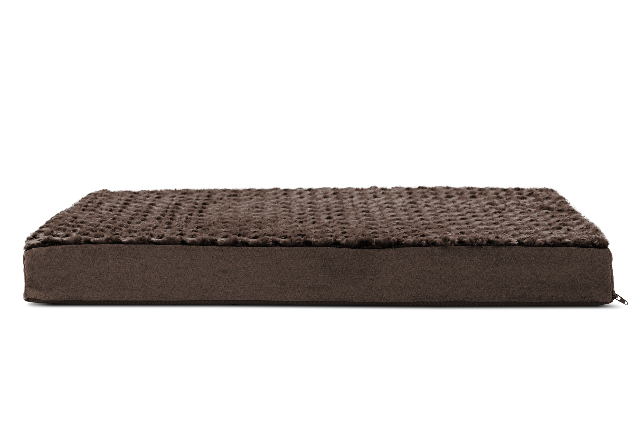 FurHaven Orthopedic Mattress Pet Bed Dogs and Cats Chocolate