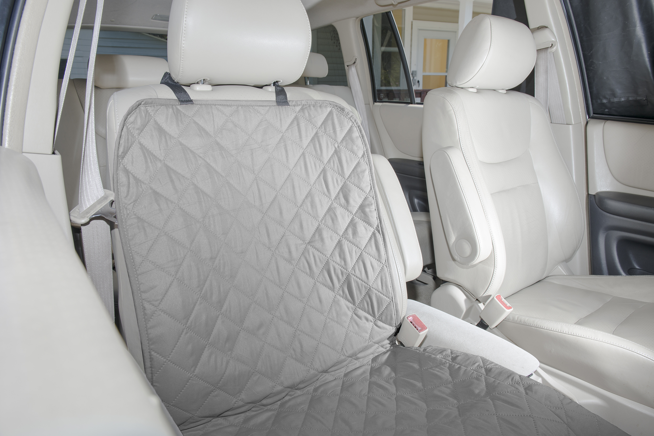 FurHaven Pet Single Gray Ultrasonic Quilted Car Seat Covers | eBay