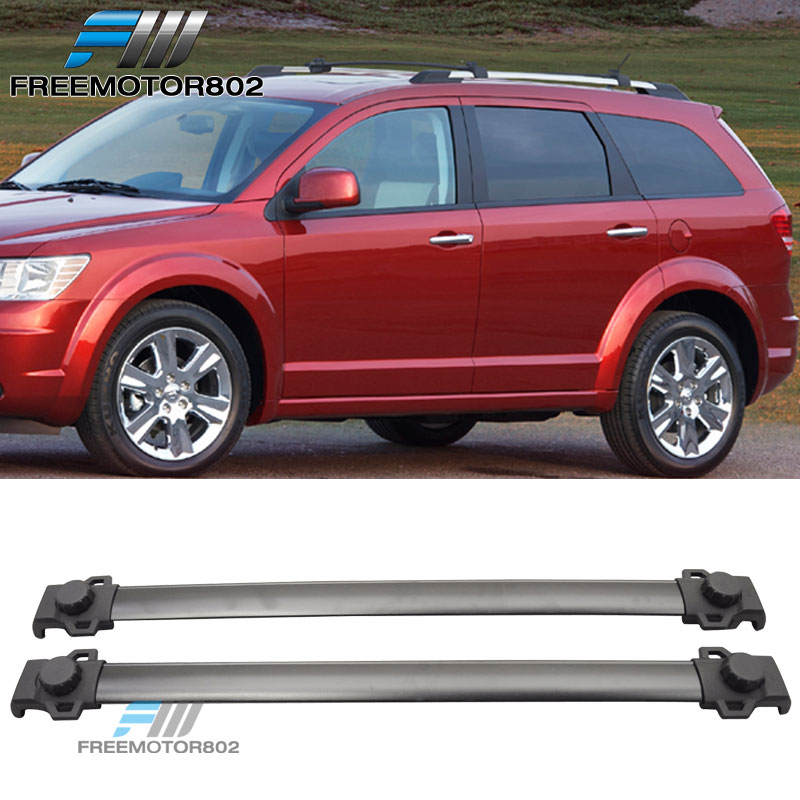 Fit For 09-17 Dodge Journey OE Style Black Roof Rack Cross Bar Luggage Carrier
