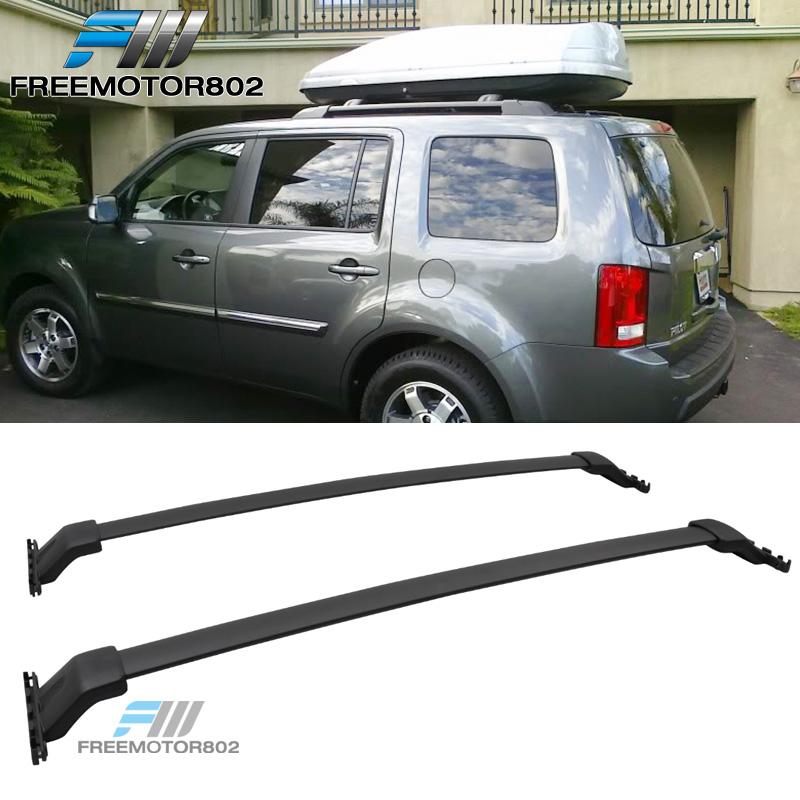 09-15 Honda Pilot OE Style Black Aluminum Roof Rack Cross Bar Luggage Carrier