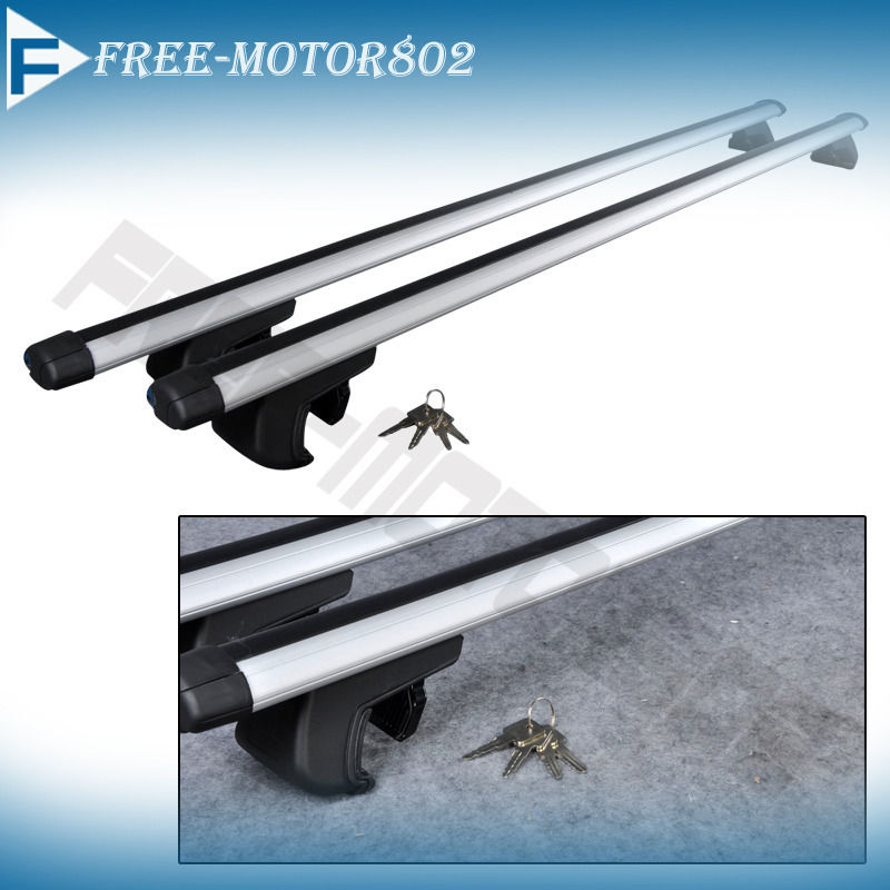 53 Inch Universal Car Aluminum Roof Top Rail Rack Cross