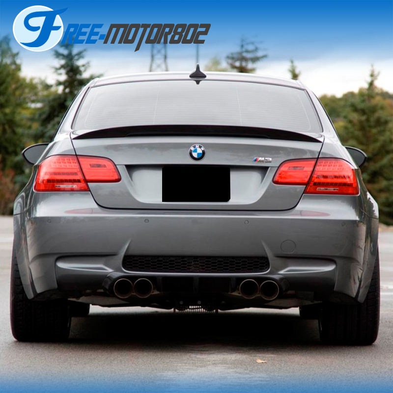 For 07-13 BMW E92 Coupe 328i 335i M3 P Style High Kick Trunk Spoiler Wing
