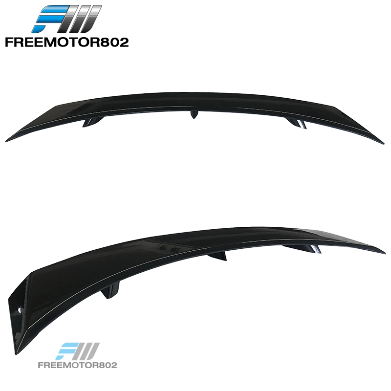 Fits 08-14 Dodge Avenger OE Factory Trunk Spoiler Wing Painted Glossy Black