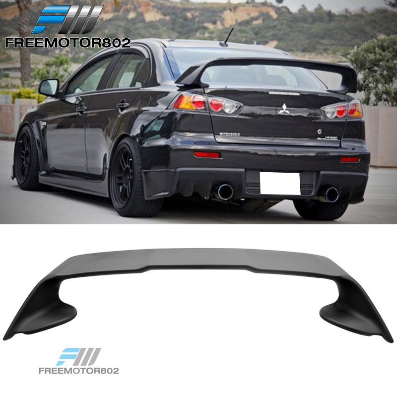 for 08 15 mitsubishi lancer evolution evo 10 rear trunk spoiler wing abs ebay details about for 08 15 mitsubishi lancer evolution evo 10 rear trunk spoiler wing abs