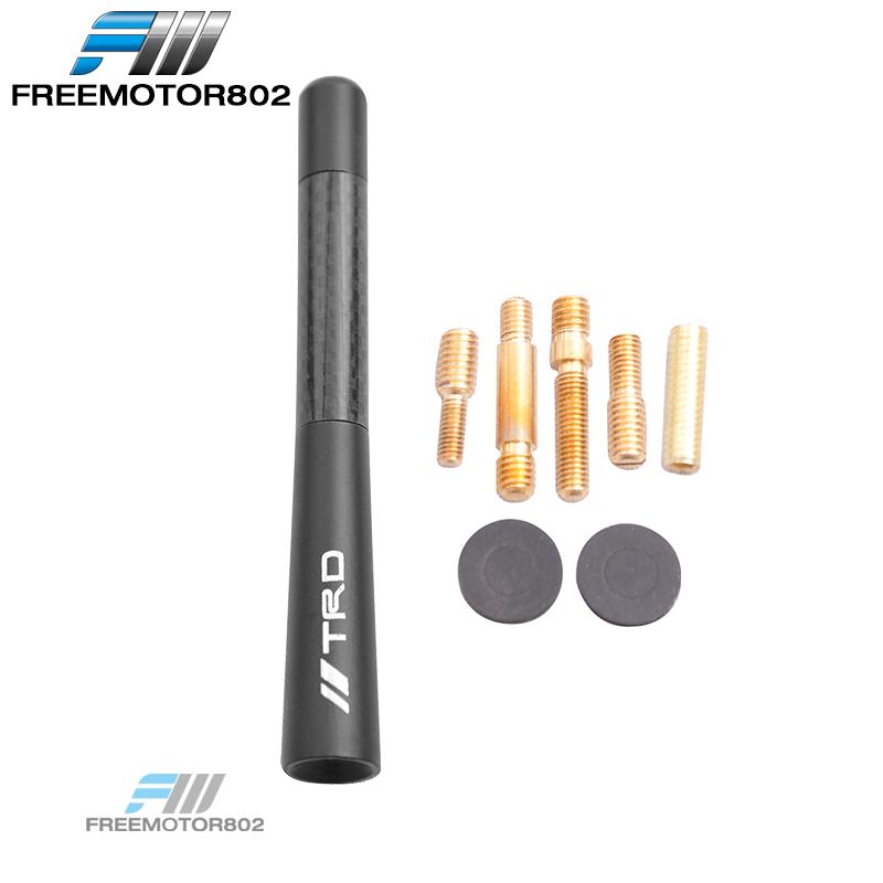 """For LEXUS CAR SUV Carbon Fiber Antenna Short Mini AM//FM Radio 4.7/"""" Replacement"""