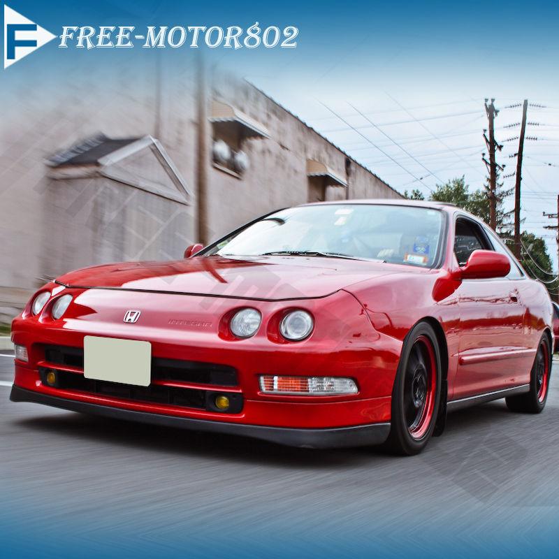 Fit 94-97 Acura Integra PU Front Bumper Lip Spoiler SI