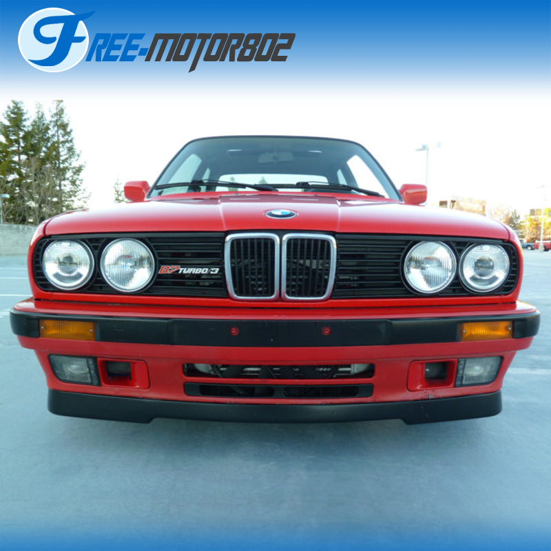 For 84-92 BMW E30 3-Series M-Tech Style PU Bumper Lower