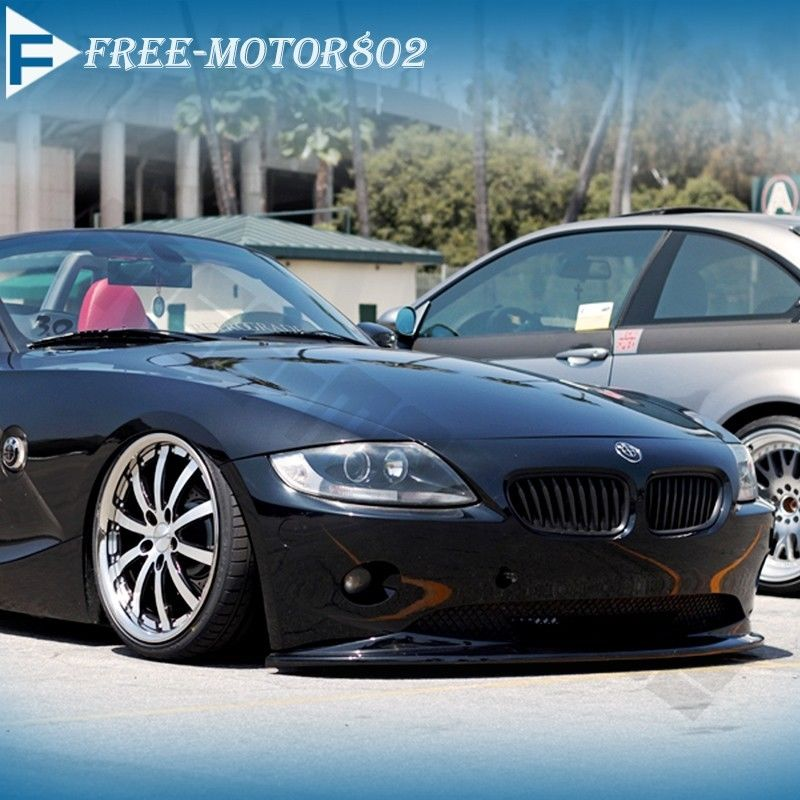 Bmw Z4 Splitter: Fit 2002-2005 BMW E85 Z4 Euro DS Style Poly Urethane Front