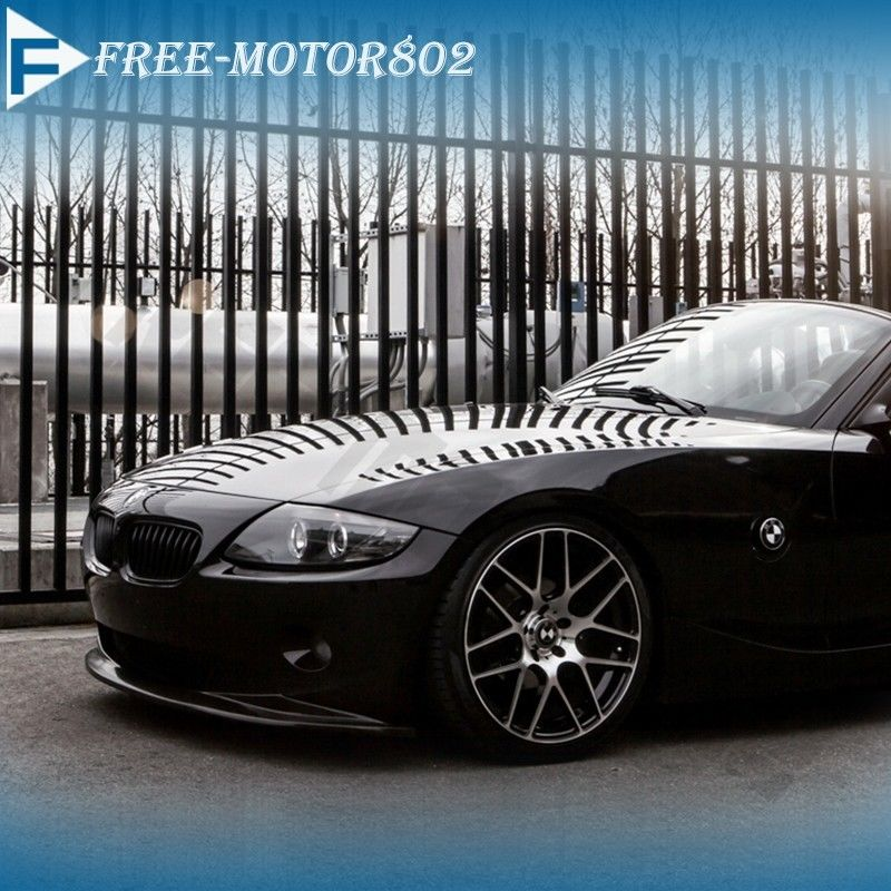 Bmw Z4 Convertible Black: Fit 2002-2005 BMW E85 Z4 Euro DS Style Poly Urethane Front