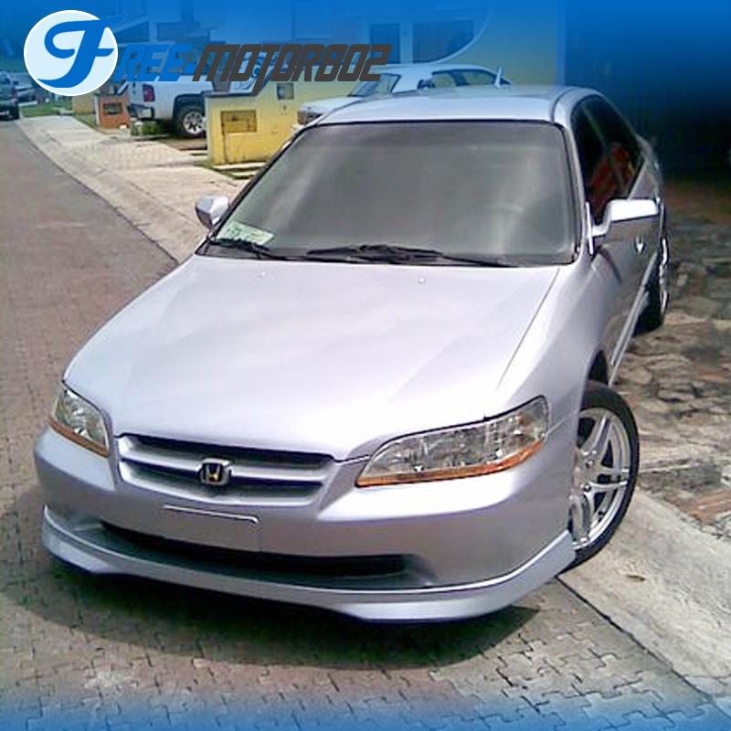 For 98-02 Honda Accord Sedan 4Door Type R Front Bumper Lip ...