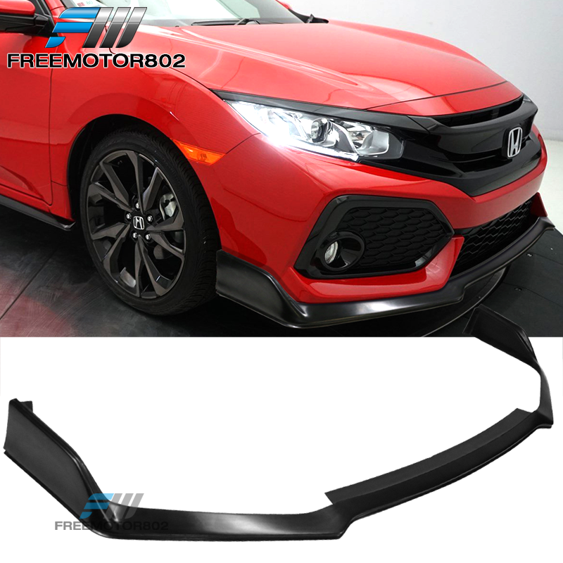 2017 2019 Honda Civic Side Skirt Extension Civic Hatch: Fits 17-19 Honda Civic Si Hatchback Type R Style Front