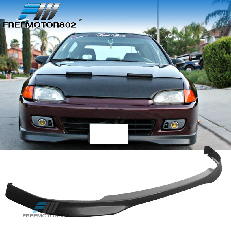 TR Style Front Bumper Lip PP Fits 92-95 Honda Civic 4dr